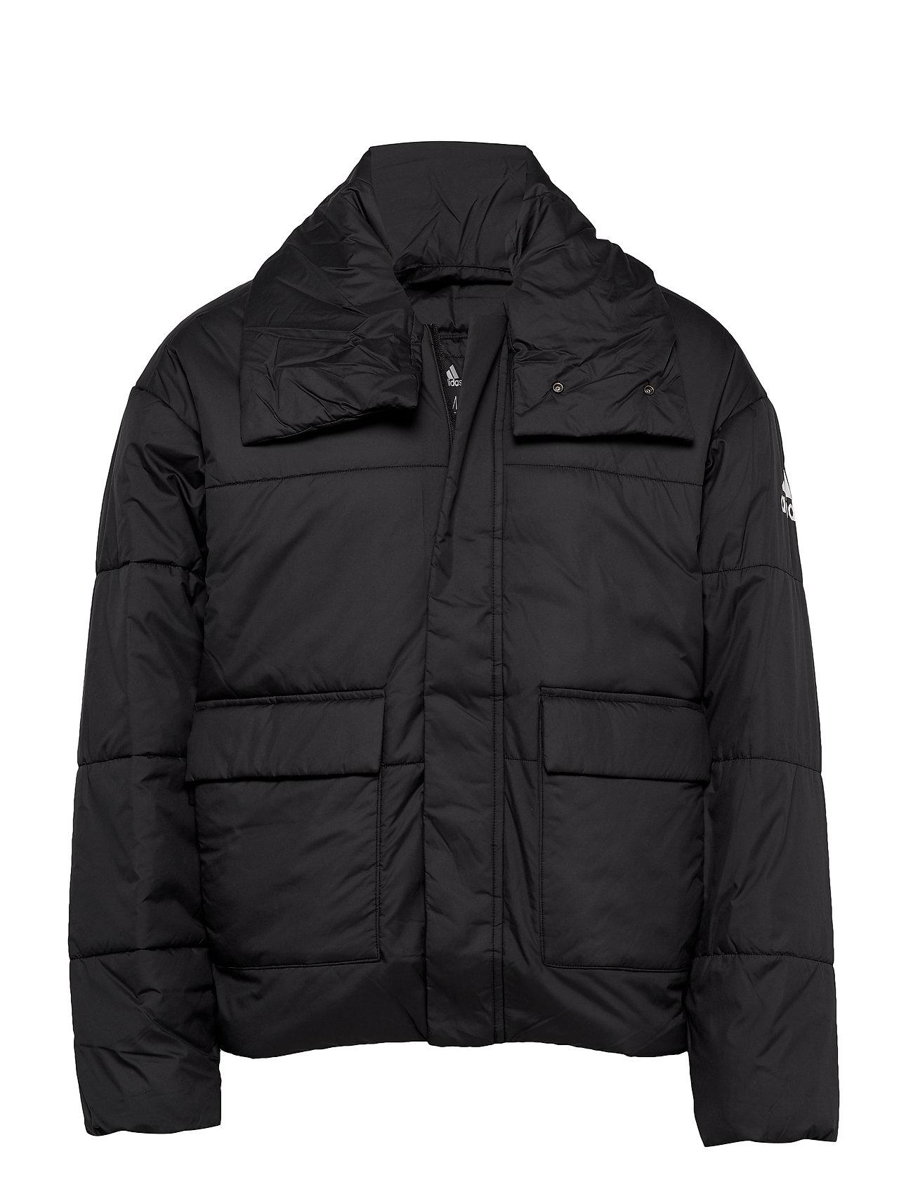 adidas Performance BIG BAFFLE JKT - BLACK