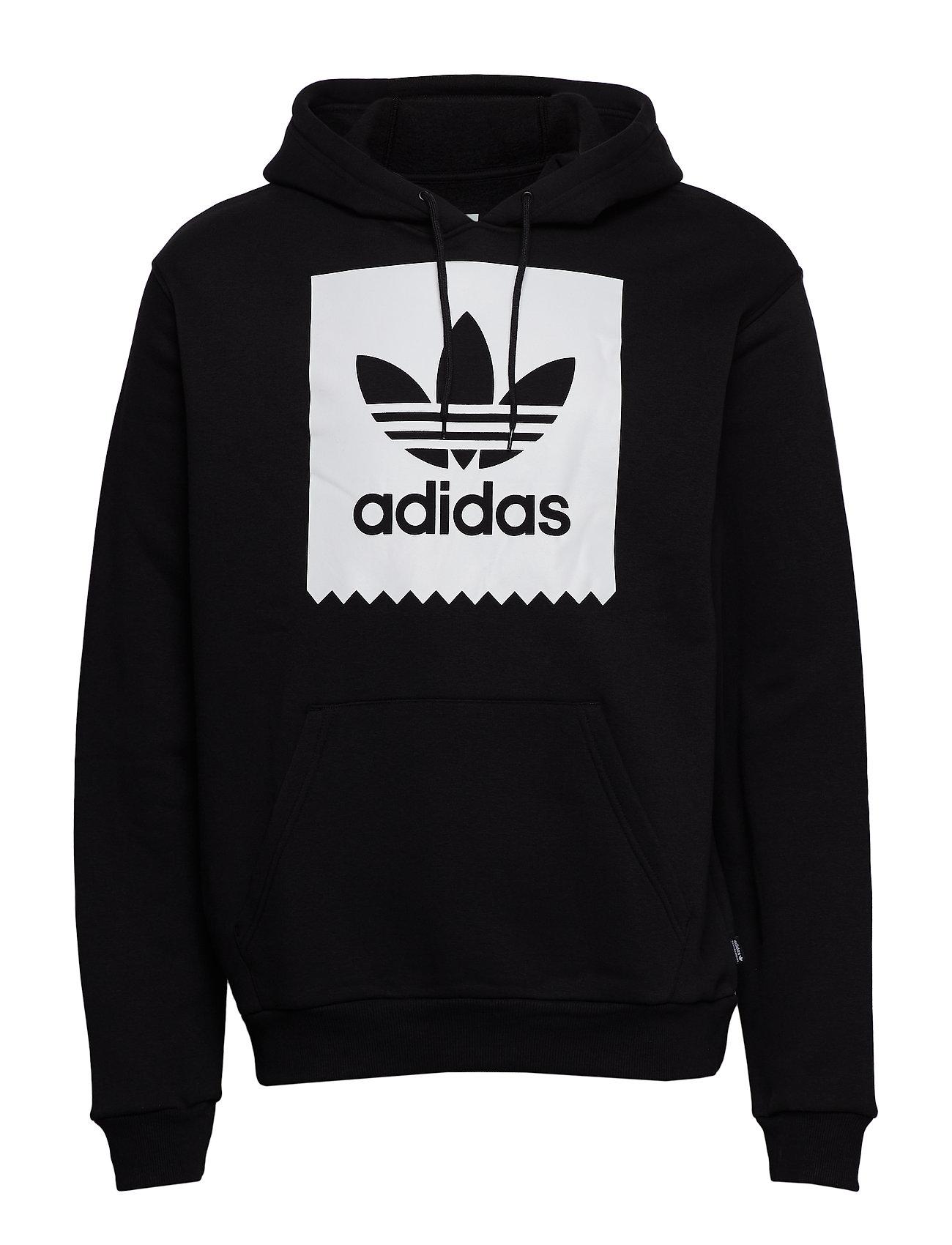 Adidas Solid BB Pullover Hoodie BlackWhite