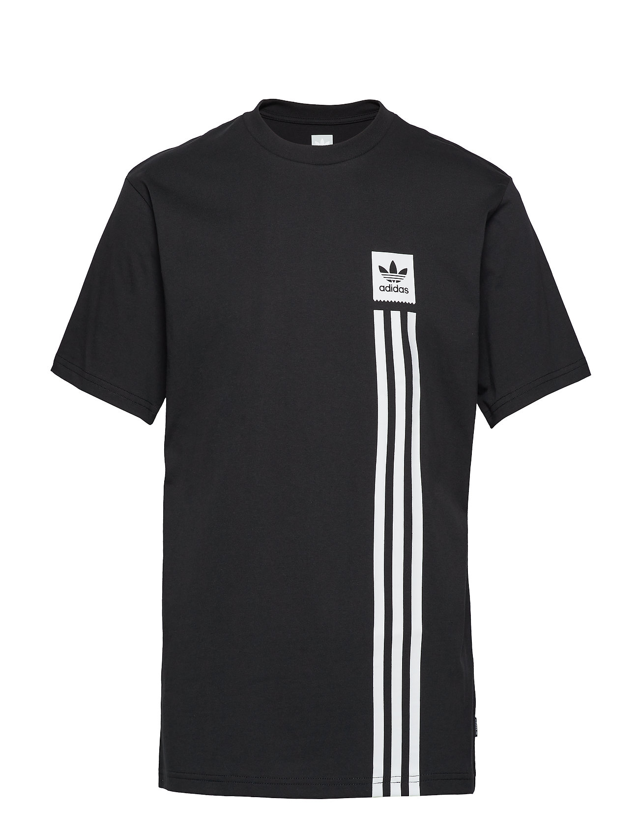 adidas Performance BB PILLAR TEE - BLACK/WHITE