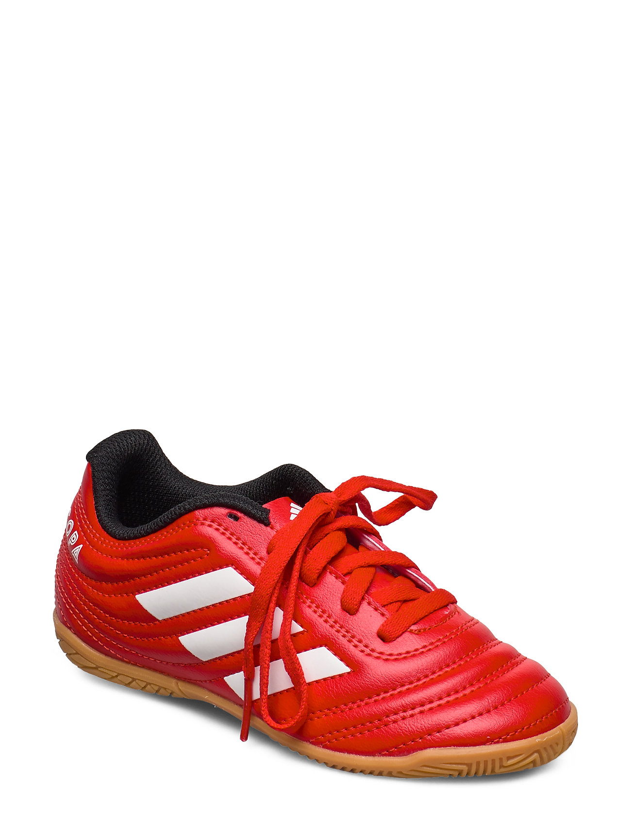 adidas Performance COPA 20.4 IN J - ACTRED/FTWWHT/CBLACK