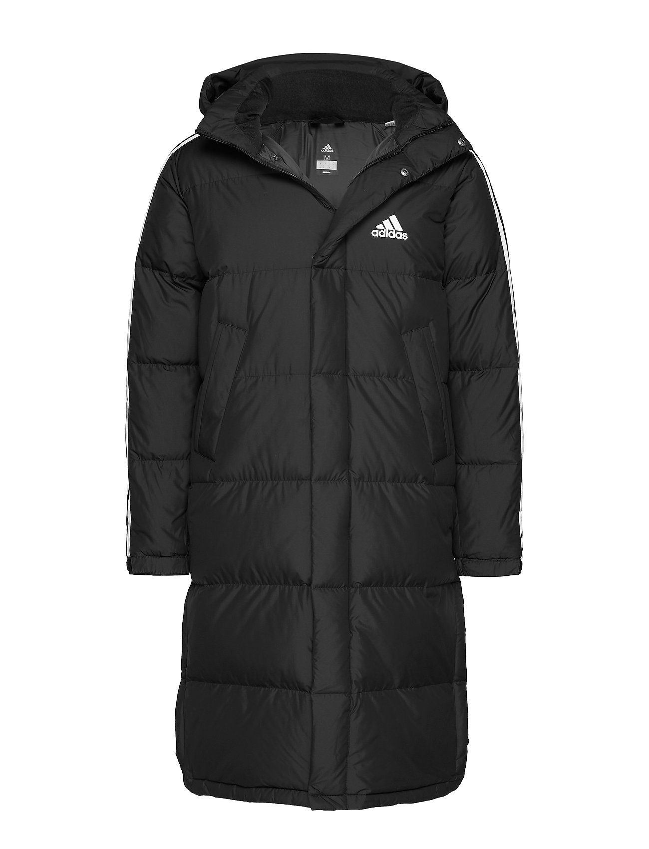 adidas Performance 3ST LONG PARKA - BLACK/WHITE/WHITE