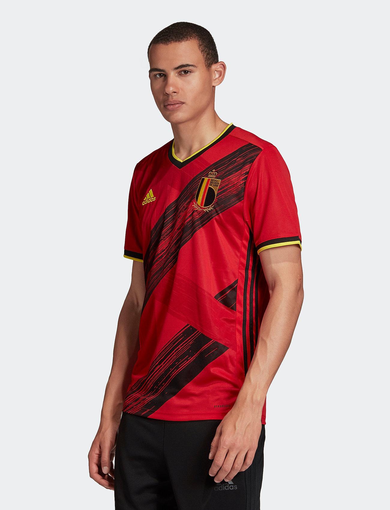 adidas Performance - Belgium 2020 Home Jersey - football shirts - colred - 0
