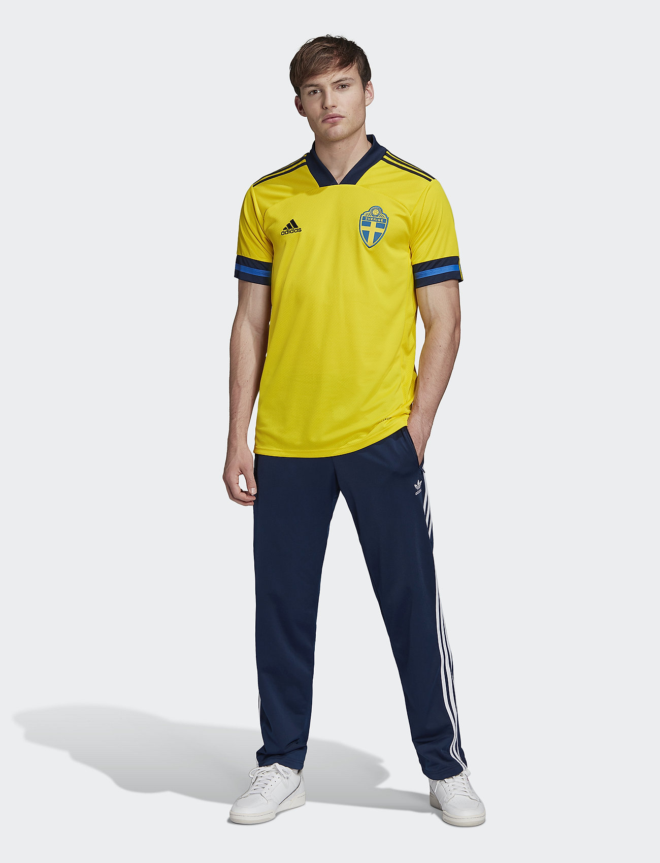 adidas Performance - Sweden 20/21 Home Jersey - football shirts - yellow/nindig - 0