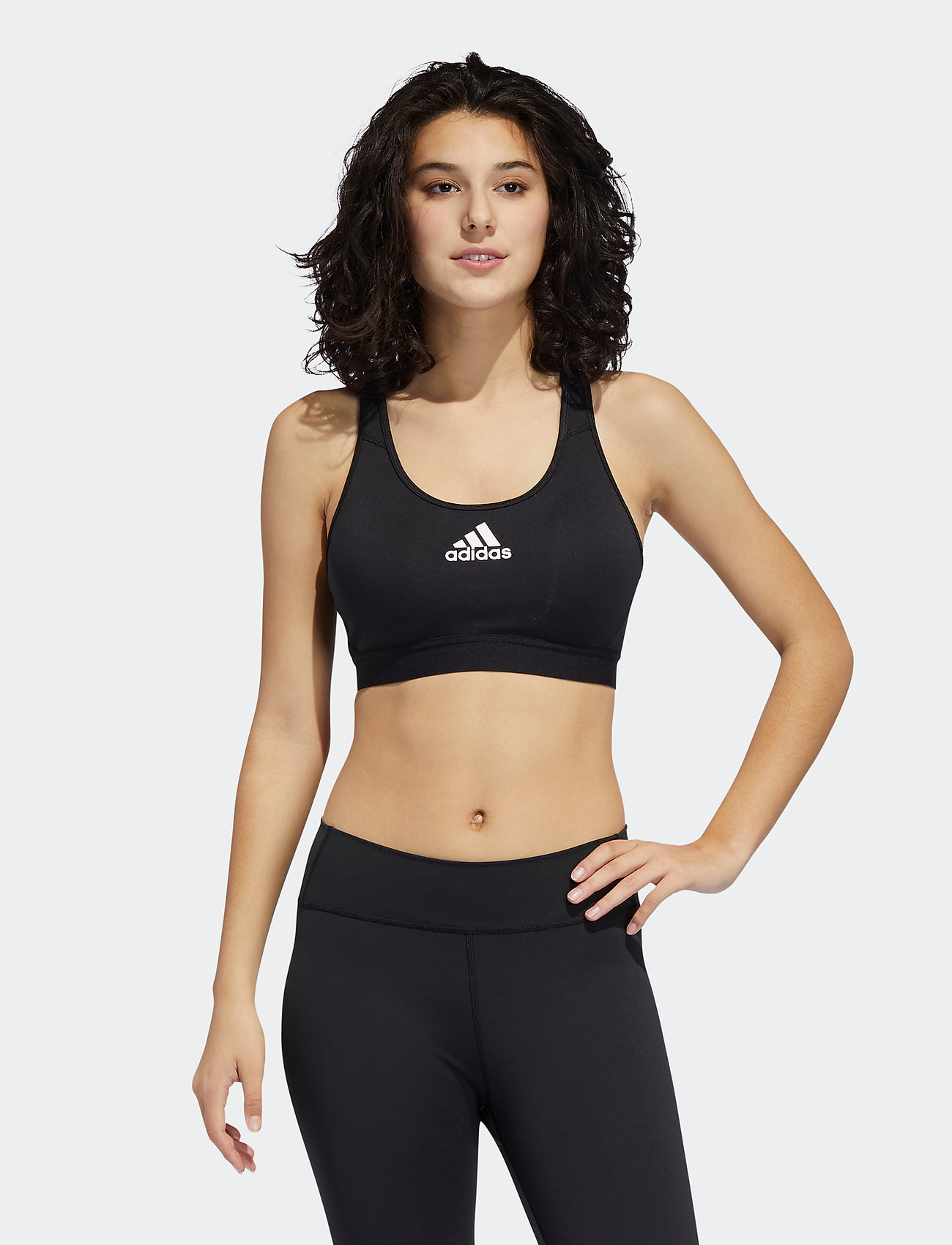 adidas Performance - DRST ASK P BRA - urheiluliivit: medium tuki - black - 0
