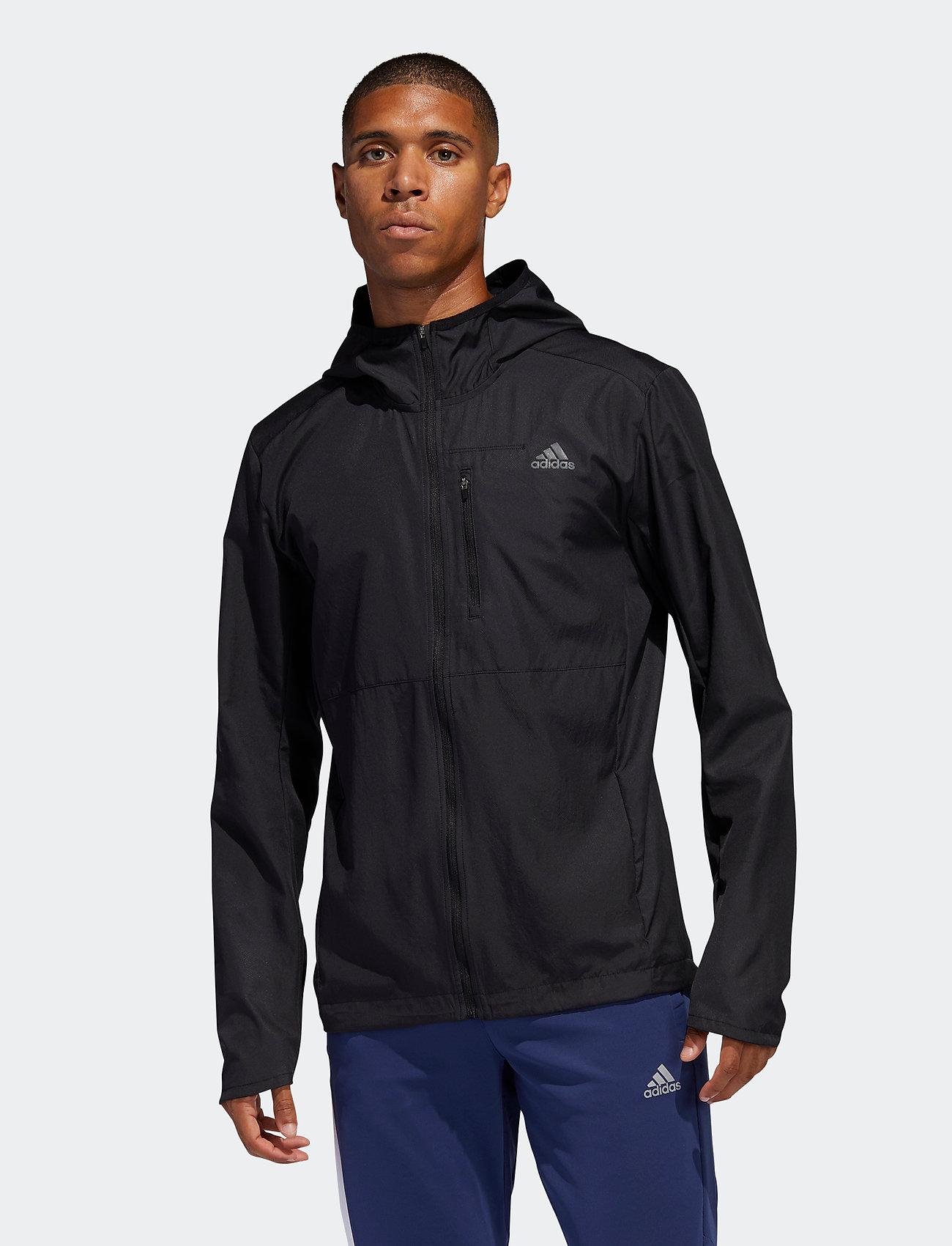 adidas Performance - OWN THE RUN JKT - training jackets - black - 0