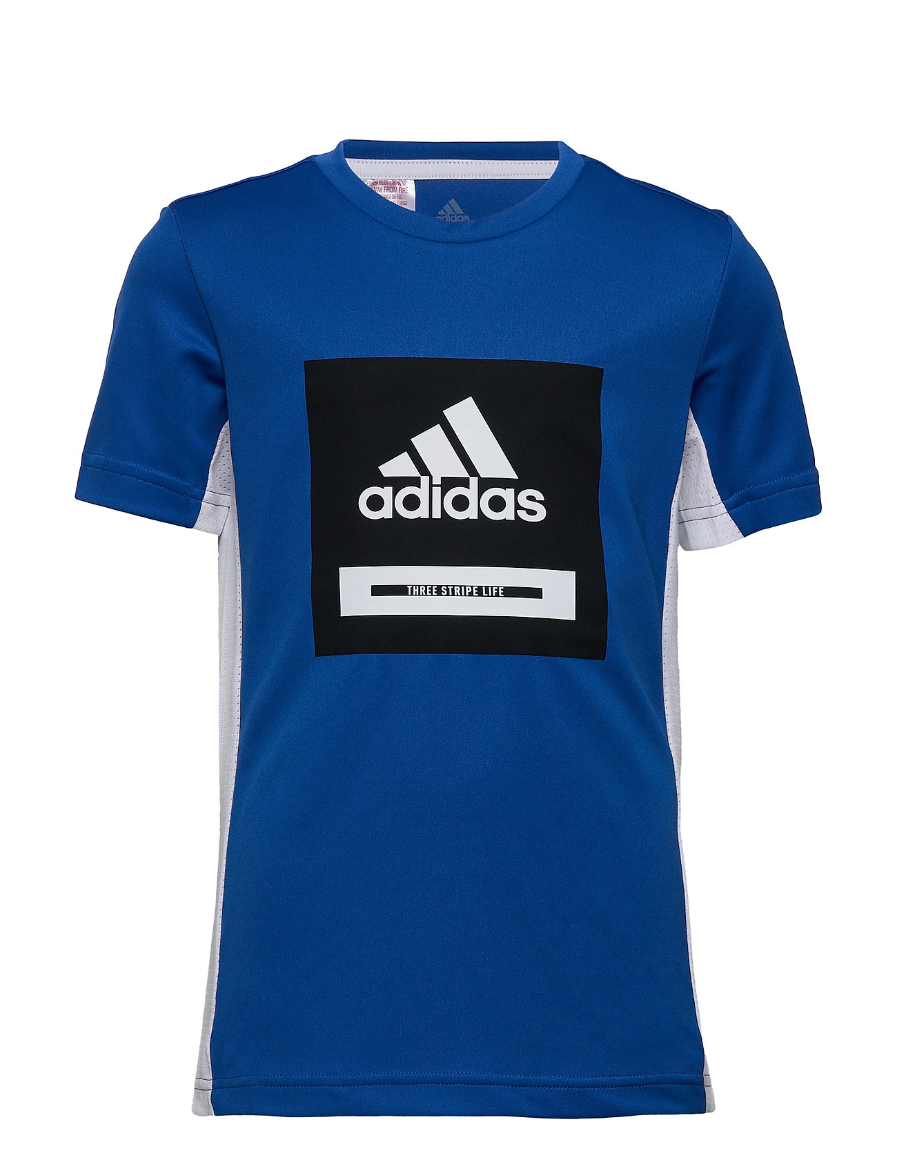 adidas Performance JB TR BOLD TEE - BLUE/WHITE