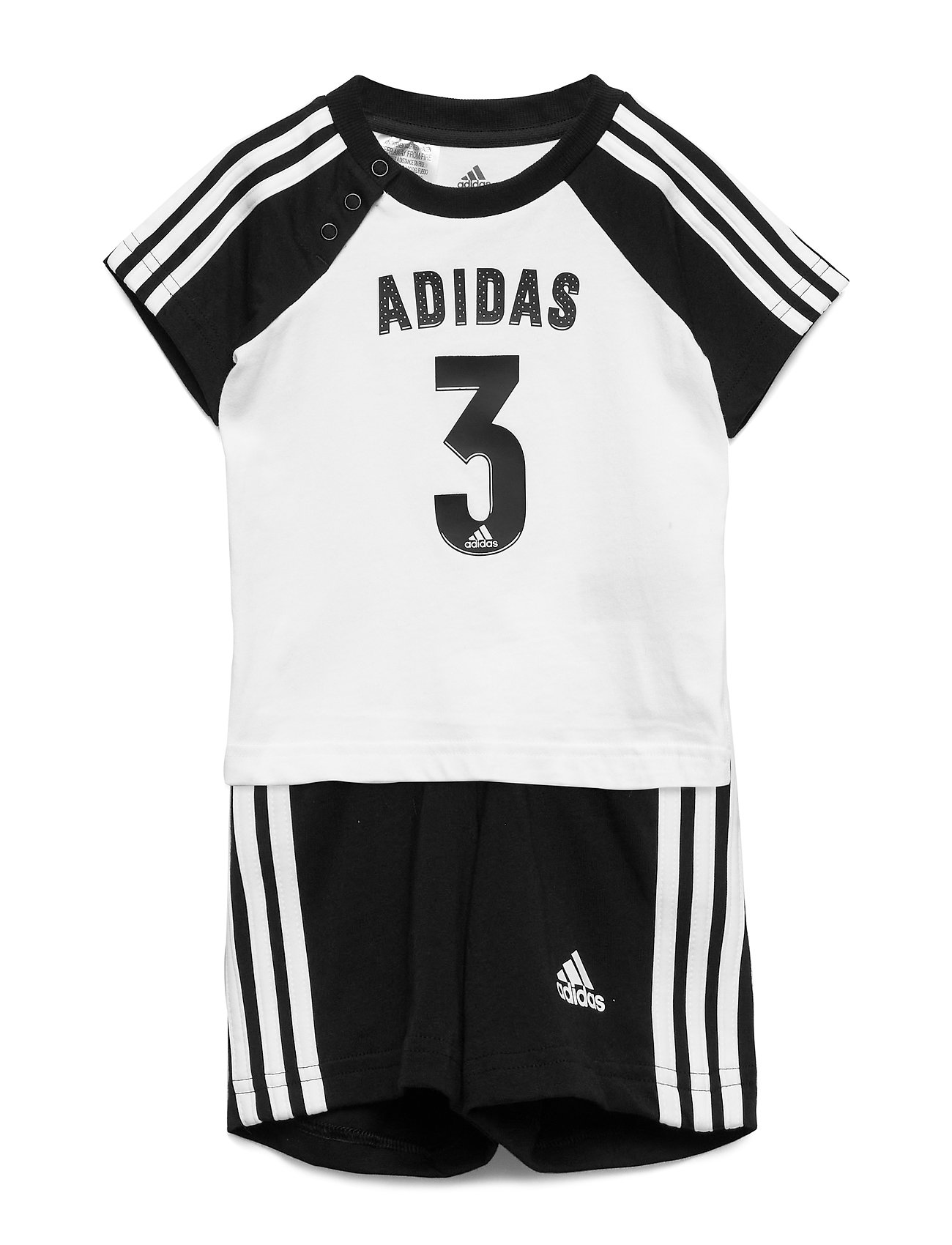adidas Performance I SPORT SUM SET - WHITE/BLACK