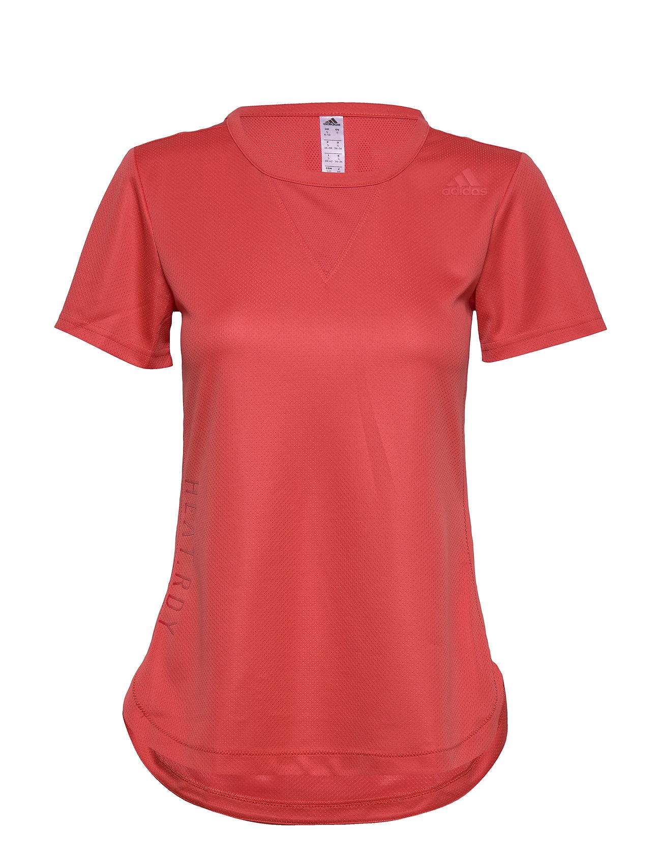 Image of Trg Tee H.Rdy T-shirt Top Rød Adidas Performance (3406255539)