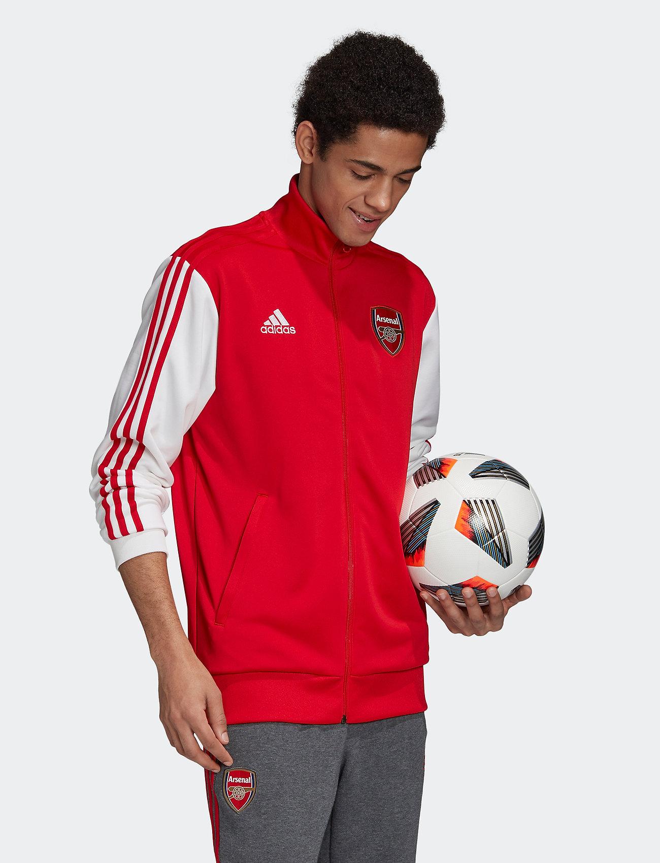 adidas Performance - Arsenal Track Top - sweatshirts - scarle - 0