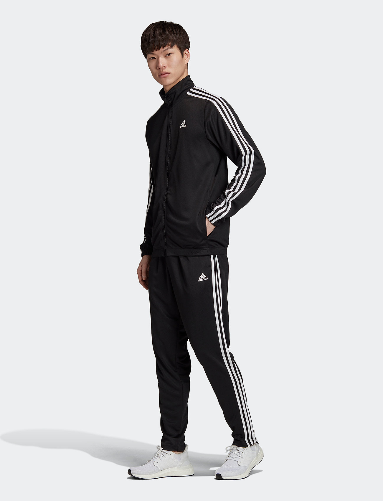 adidas Performance - Athletics Tiro Track Suit - dresy - black - 0