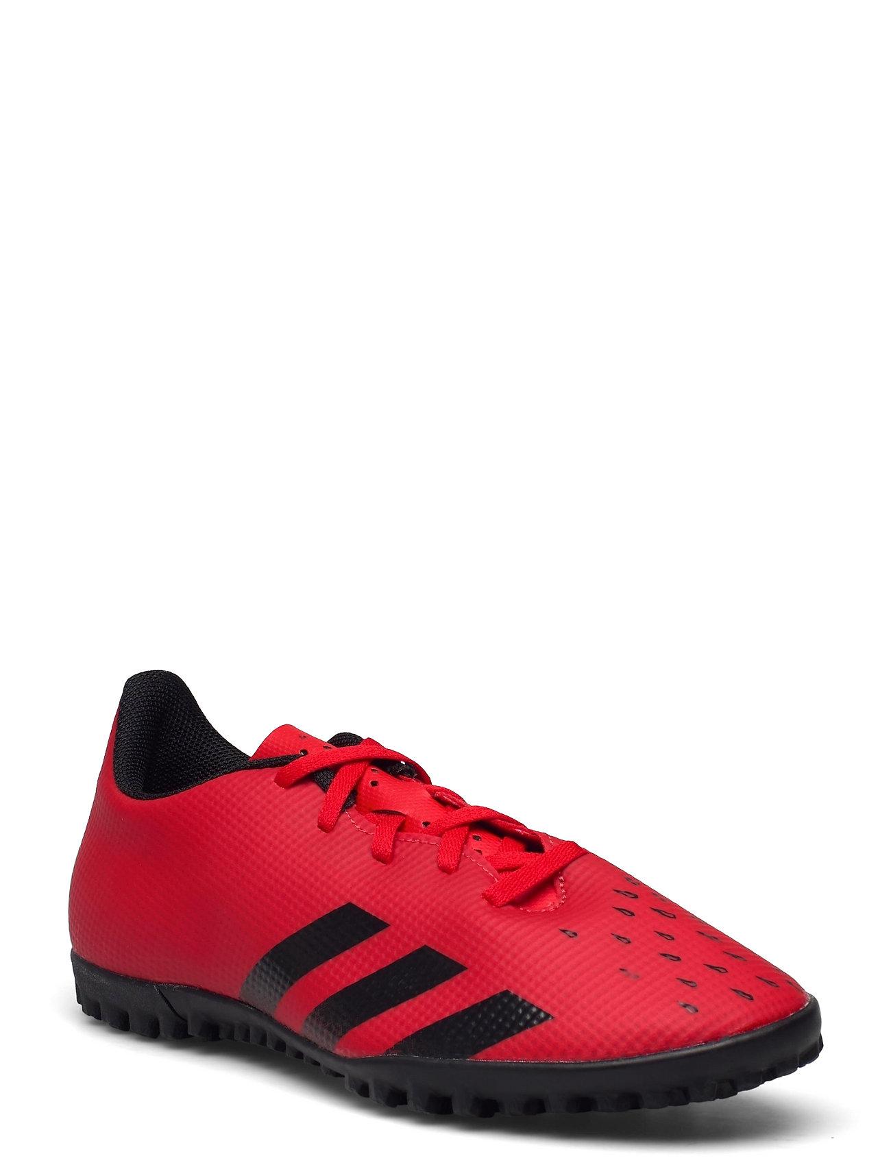 Predator Freak.4 Turf Boots Q3q4 21 Shoes Sport Shoes Football Boots Rød Adidas Performance