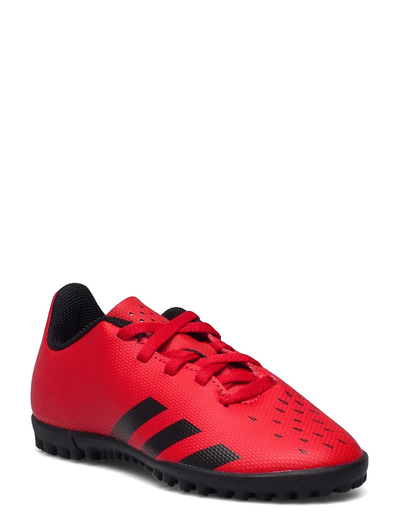 Predator Freak.4 Turf Boots Q3q4 21 Shoes Sports Shoes Football Boots Rød Adidas Performance