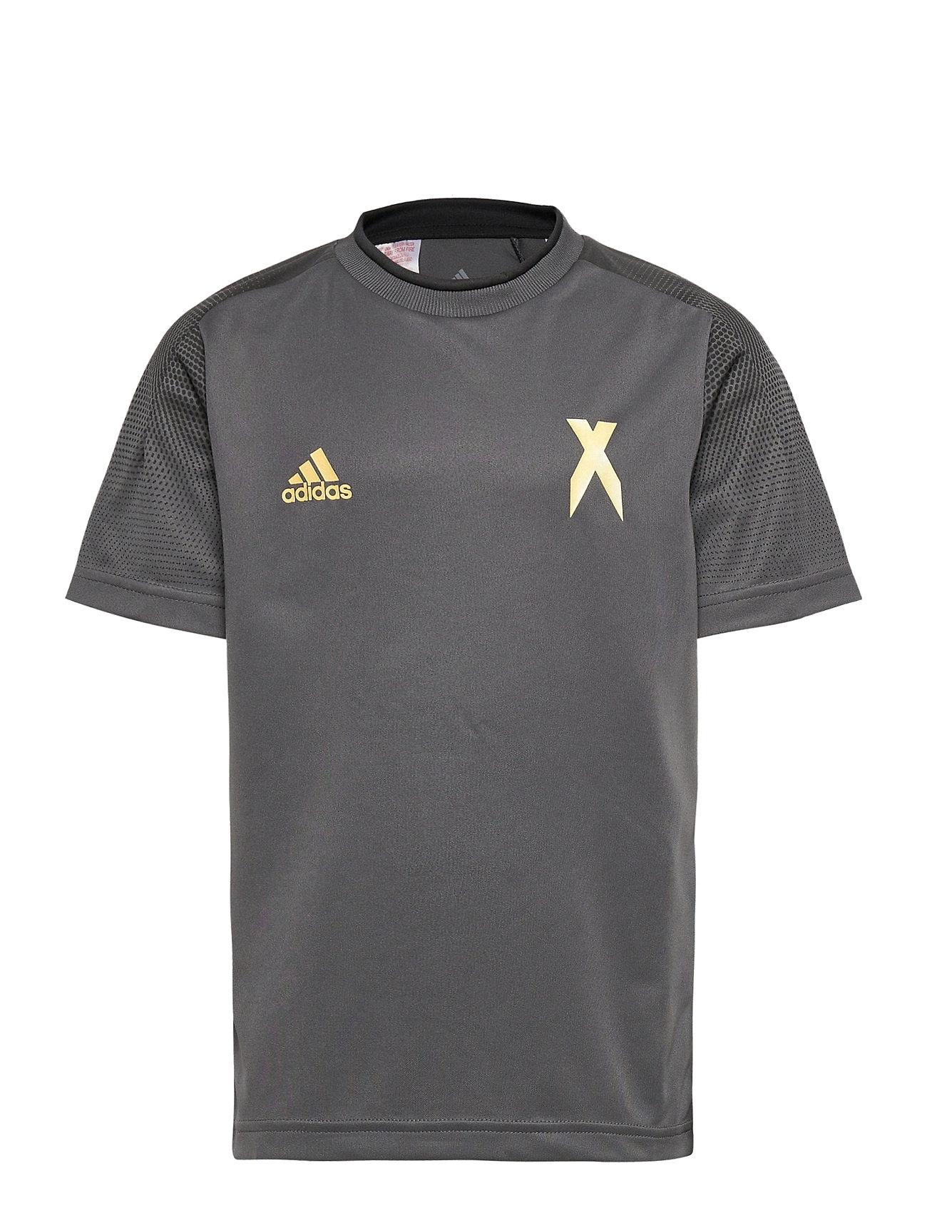 Image of B A.R. X Jsy T-shirt Grå Adidas Performance (3448362829)
