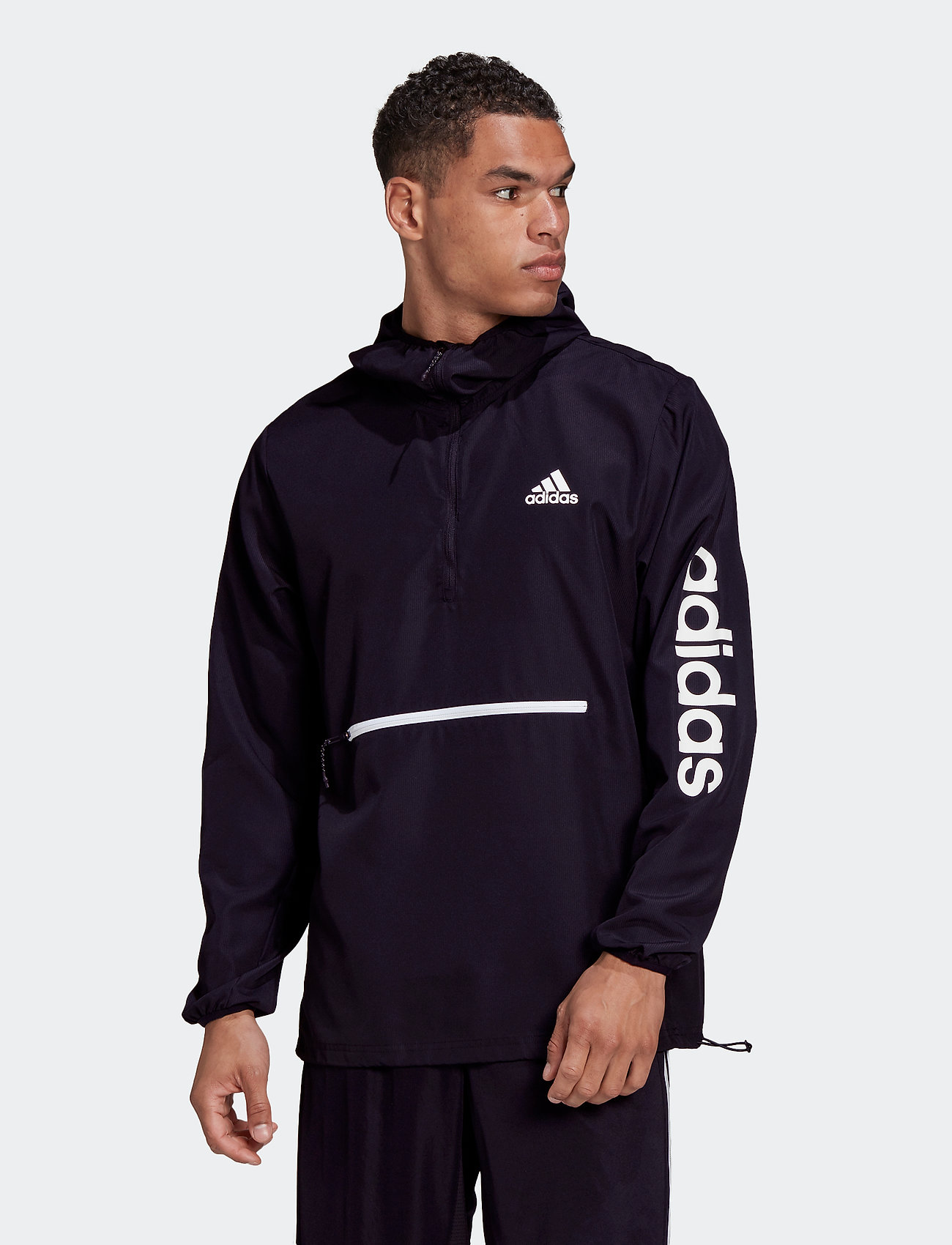 adidas Performance - M AT PBL 1/4 WB - training jackets - black/white - 0