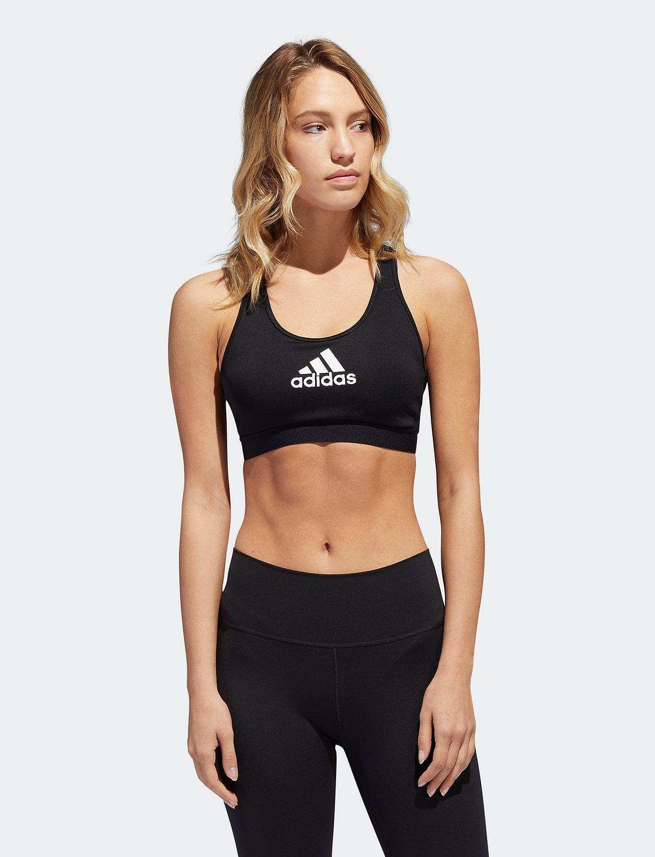 adidas Performance - DRST ASK BRA - sport bras: medium - black - 0