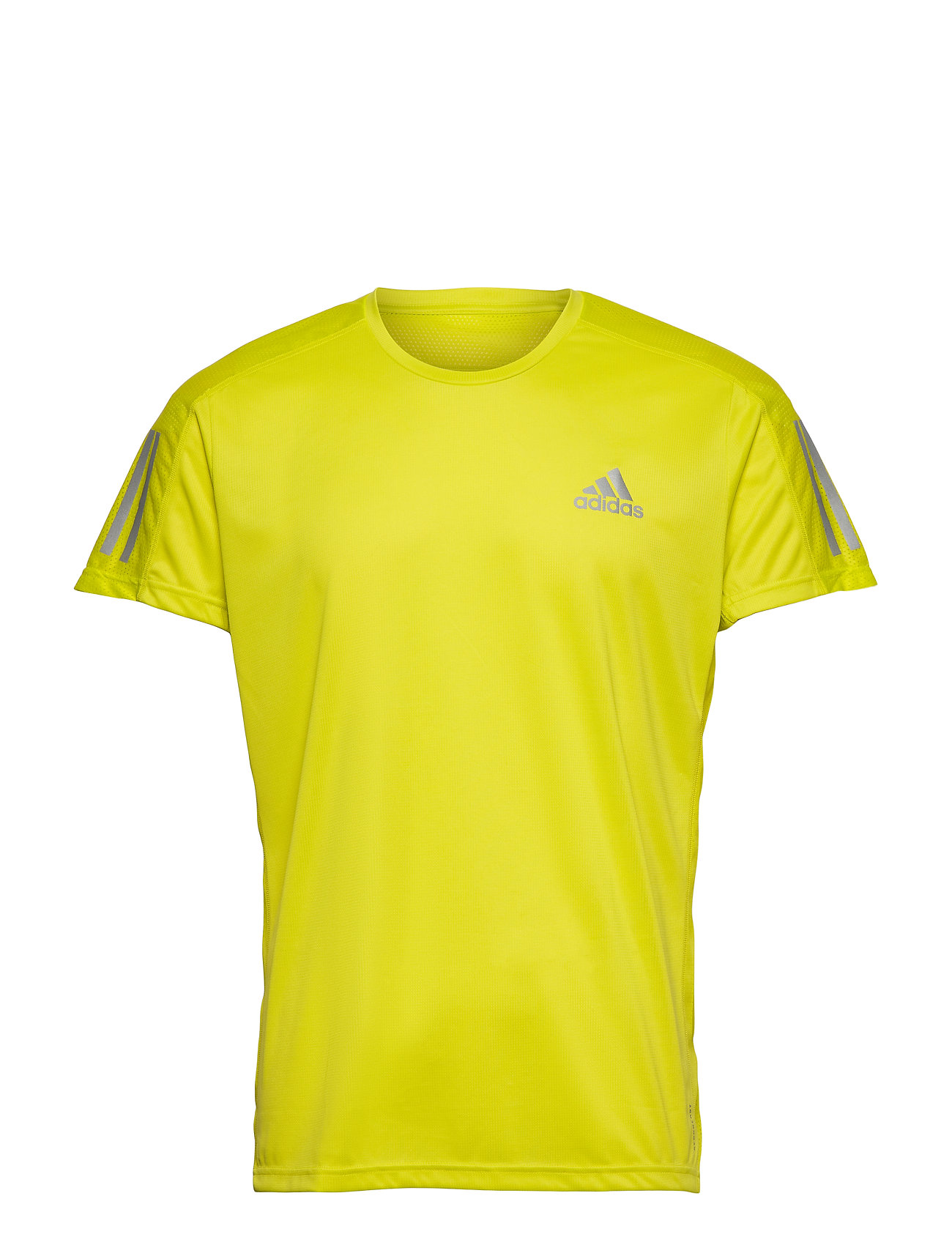 Image of Own The Run Tee T-shirt Gul Adidas Performance (3481596437)