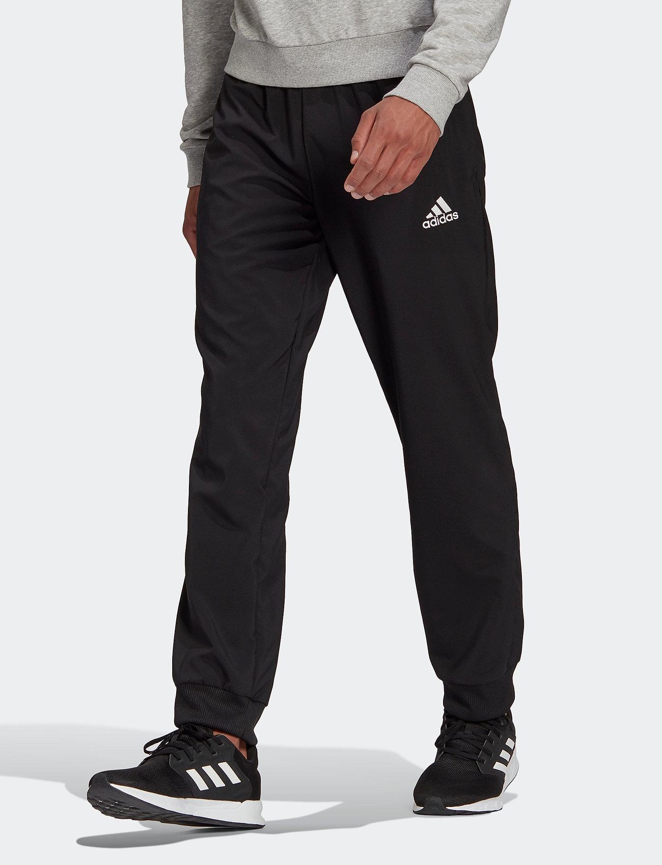 adidas Performance - AEROREADY Essentials Stanford Tapered Logo Pants - spodnie treningowe - black - 0