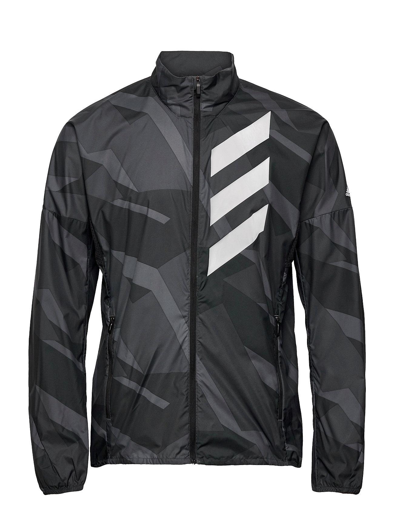 Terrex Parley Agravic Wind.Rdy Windbreaker Outerwear Sport Jackets Sort Adidas Performance