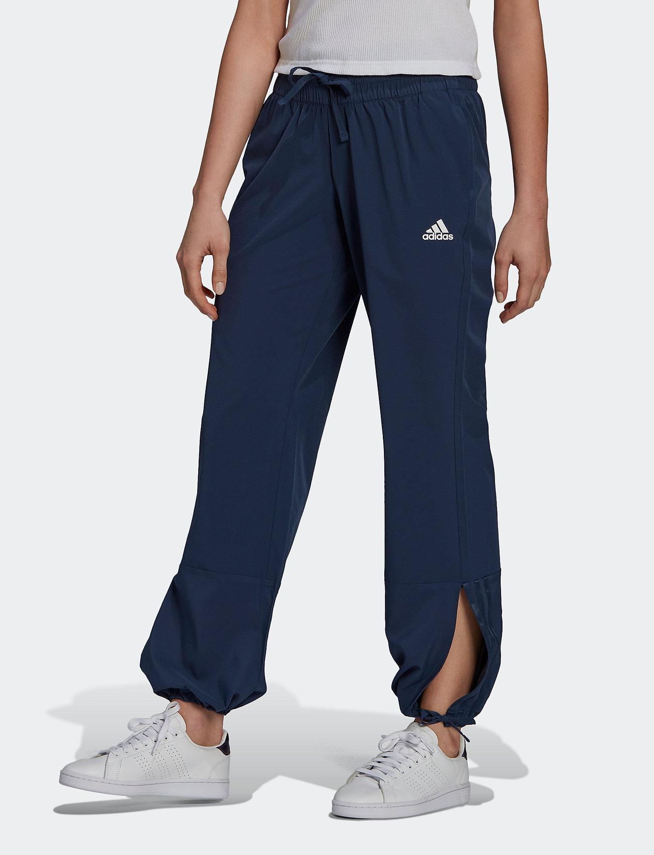 adidas Performance - Essentials AEROREADY Dance Pants W - sportbroeken - crenav/white - 0