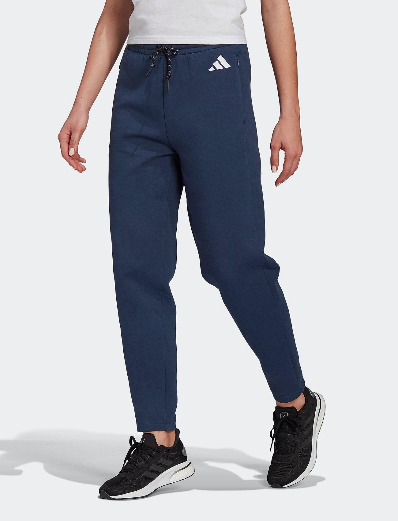 adidas Performance - W ST Pant - bukser - crenav - 0