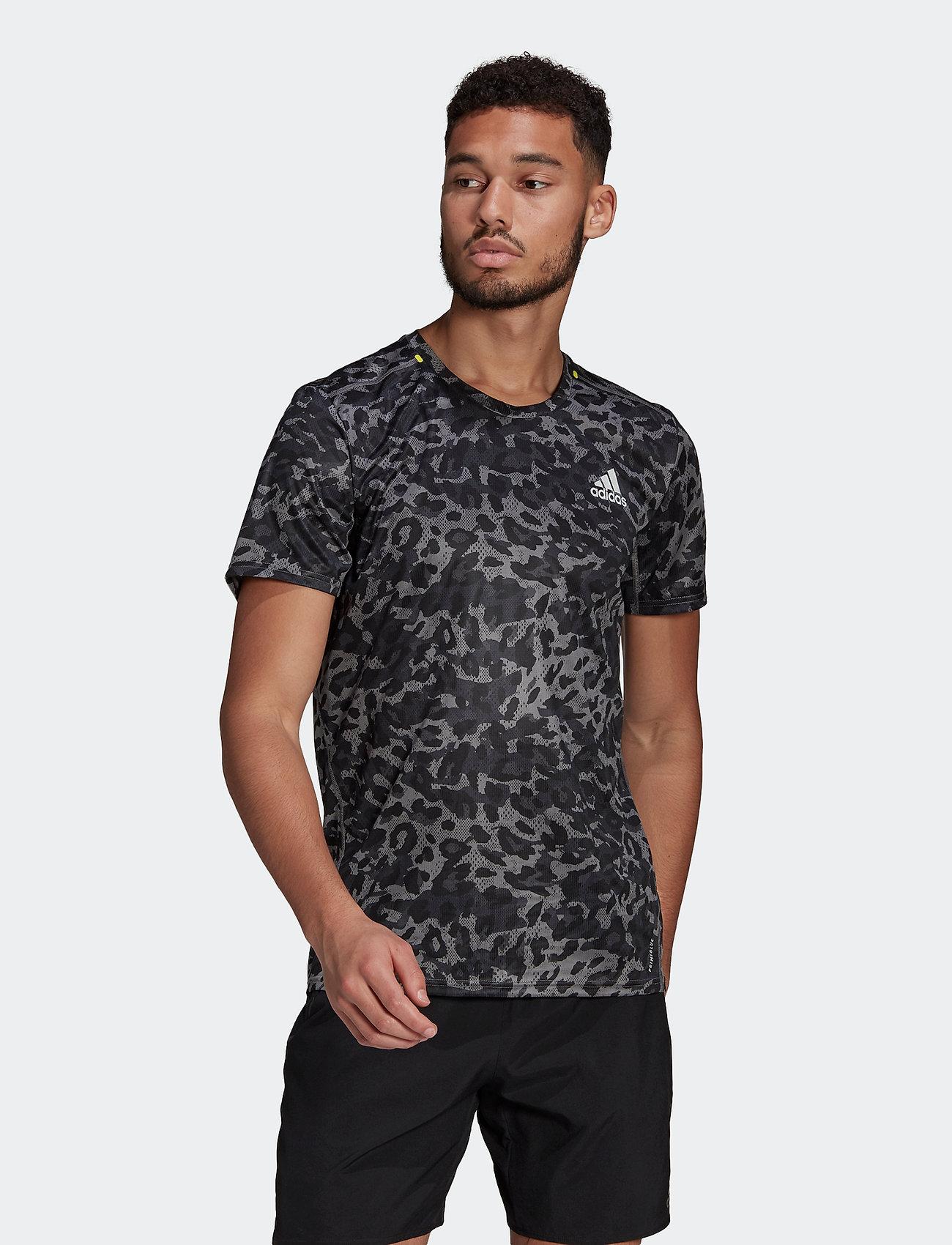 adidas Performance - Fast Primeblue Graphic T-Shirt - sportoberteile - grefou - 0