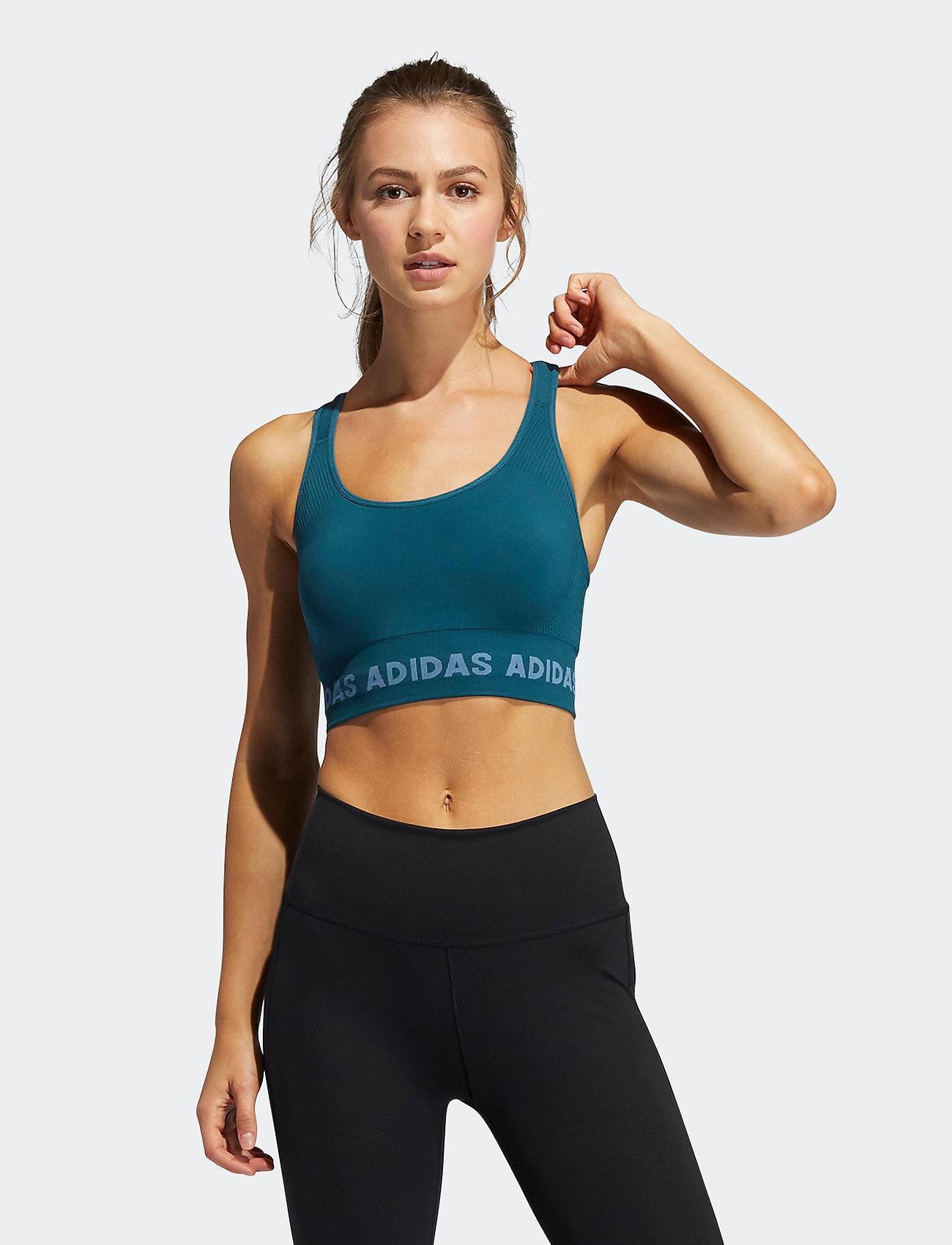 adidas Performance - Training Aeroknit Bra W - sport bras: medium support - wiltea - 0