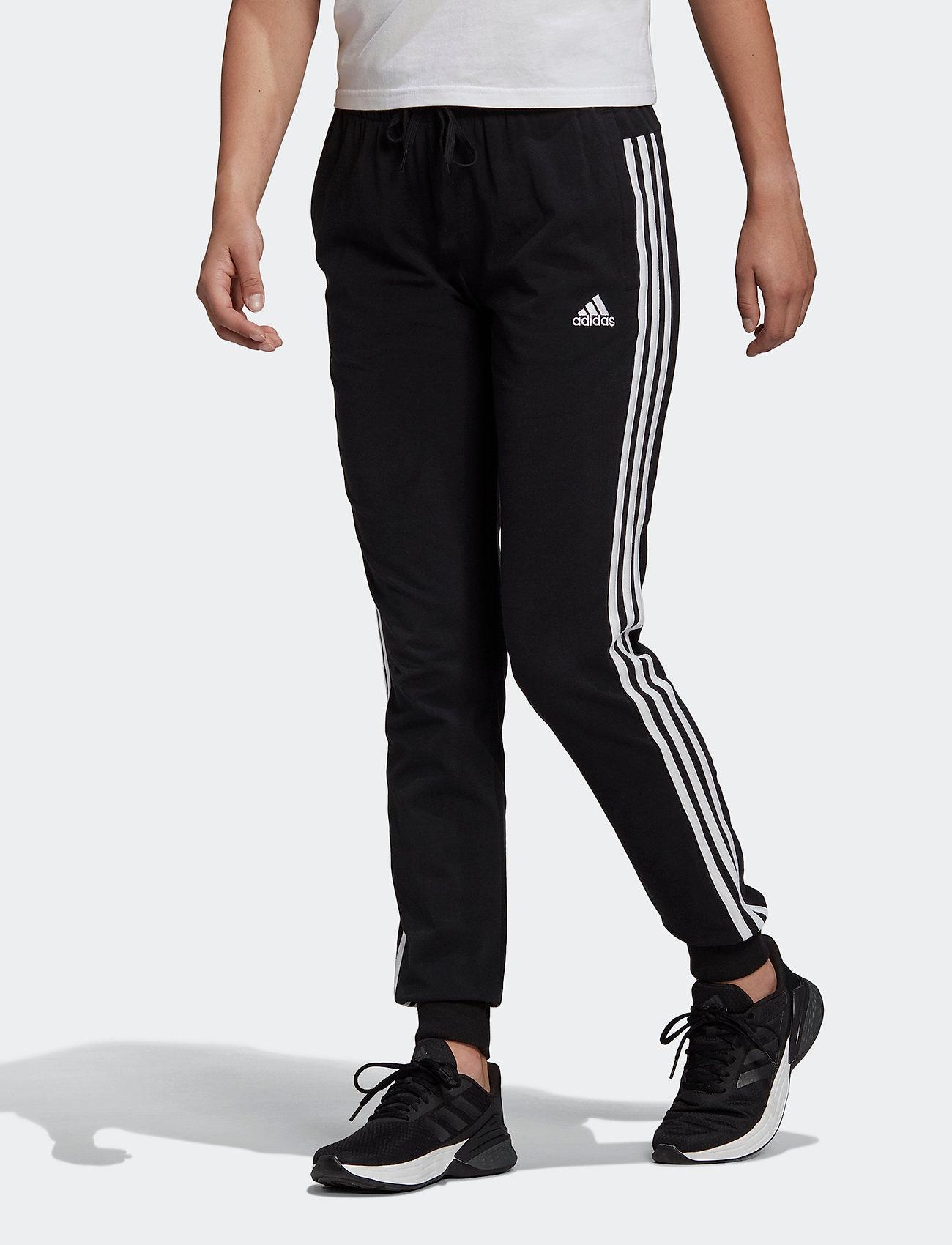 adidas Performance Essentials Single Jersey 3-stripes Pants W ...