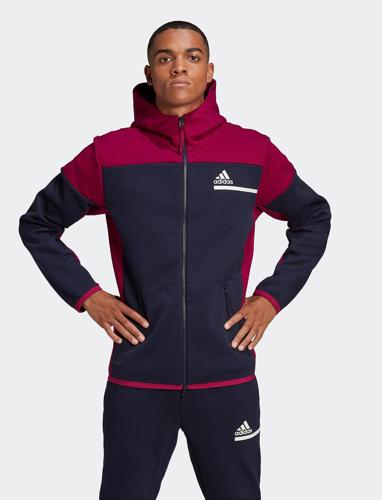 adidas Performance - ZNE FZ - basic-sweatshirts - legink/powber - 0