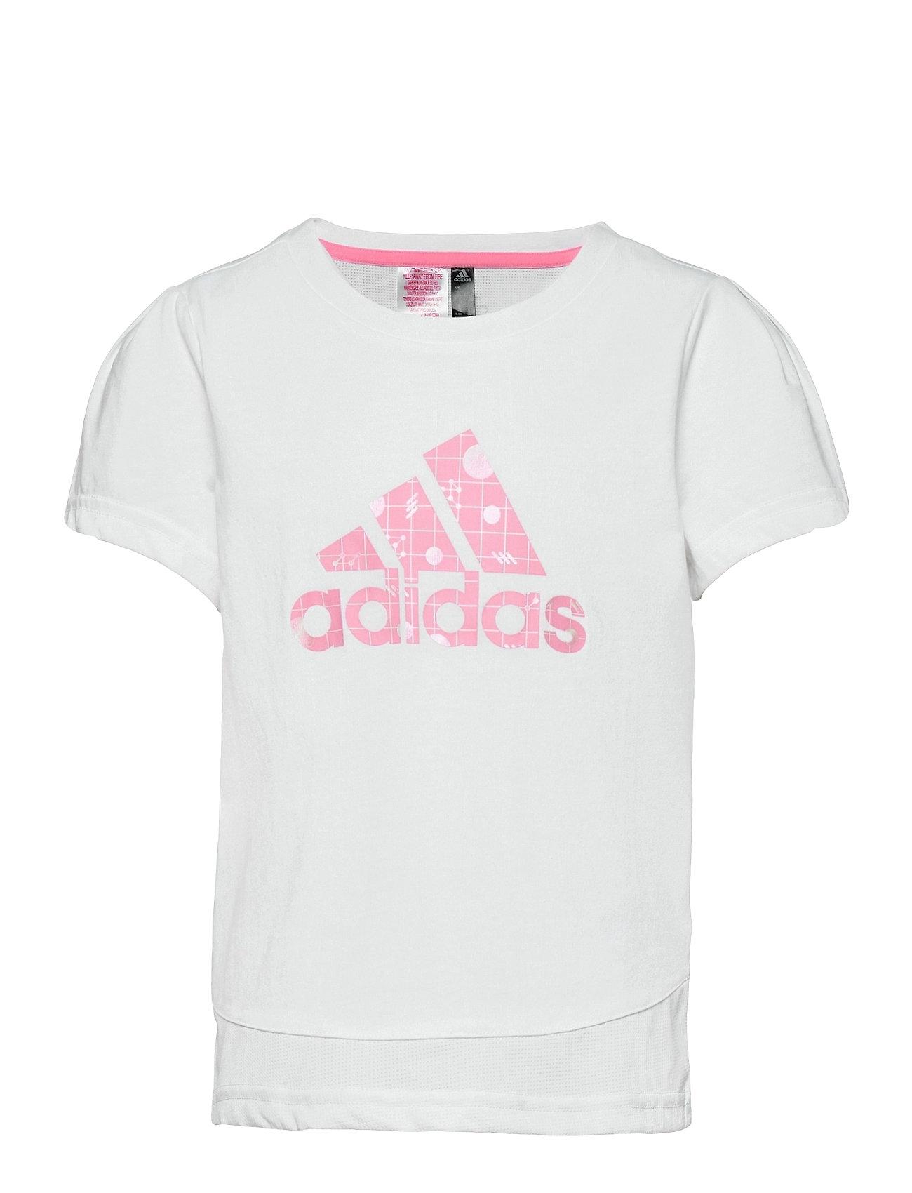 Image of Training Essentials Summer T-Shirt T-shirt Hvid Adidas Performance (3499897361)