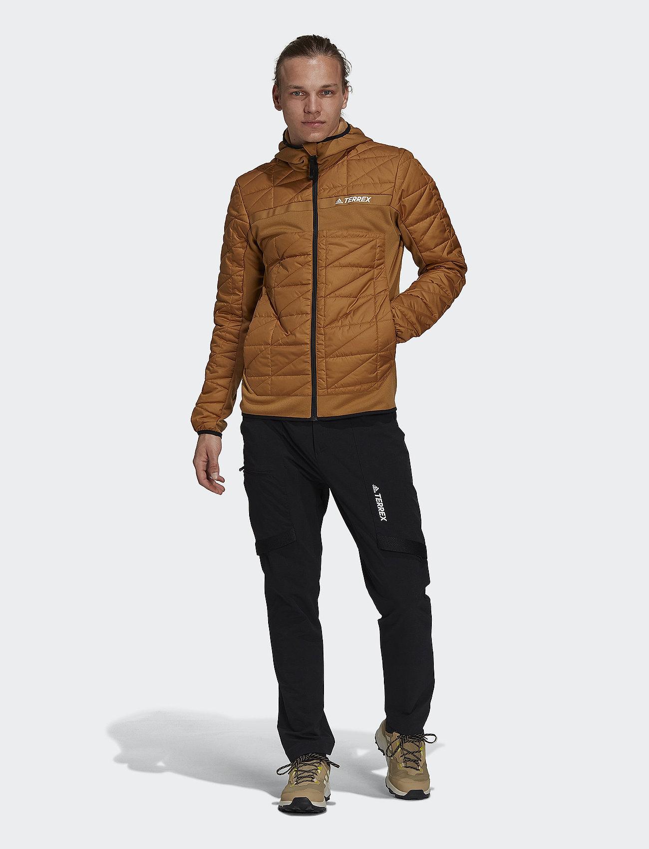 adidas Performance - Terrex Multi Primegreen Hybrid Insulated Jacket - friluftsjackor - mesa - 0