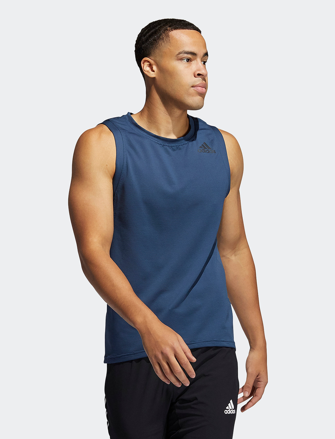 adidas Performance - AEROREADY 3-Stripes Primeblue Tank Top - tank tops - crenav - 0