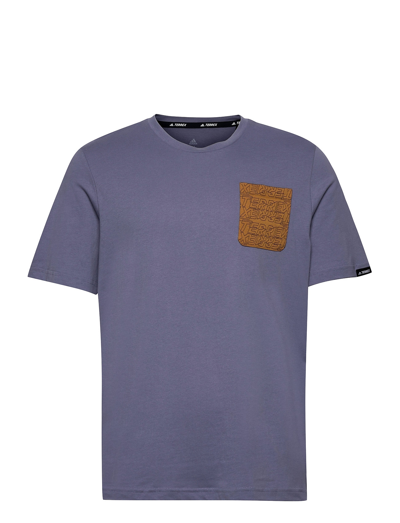 Image of Terrex Pocket Graphic Tee T-shirt Lilla Adidas Performance (3546575895)