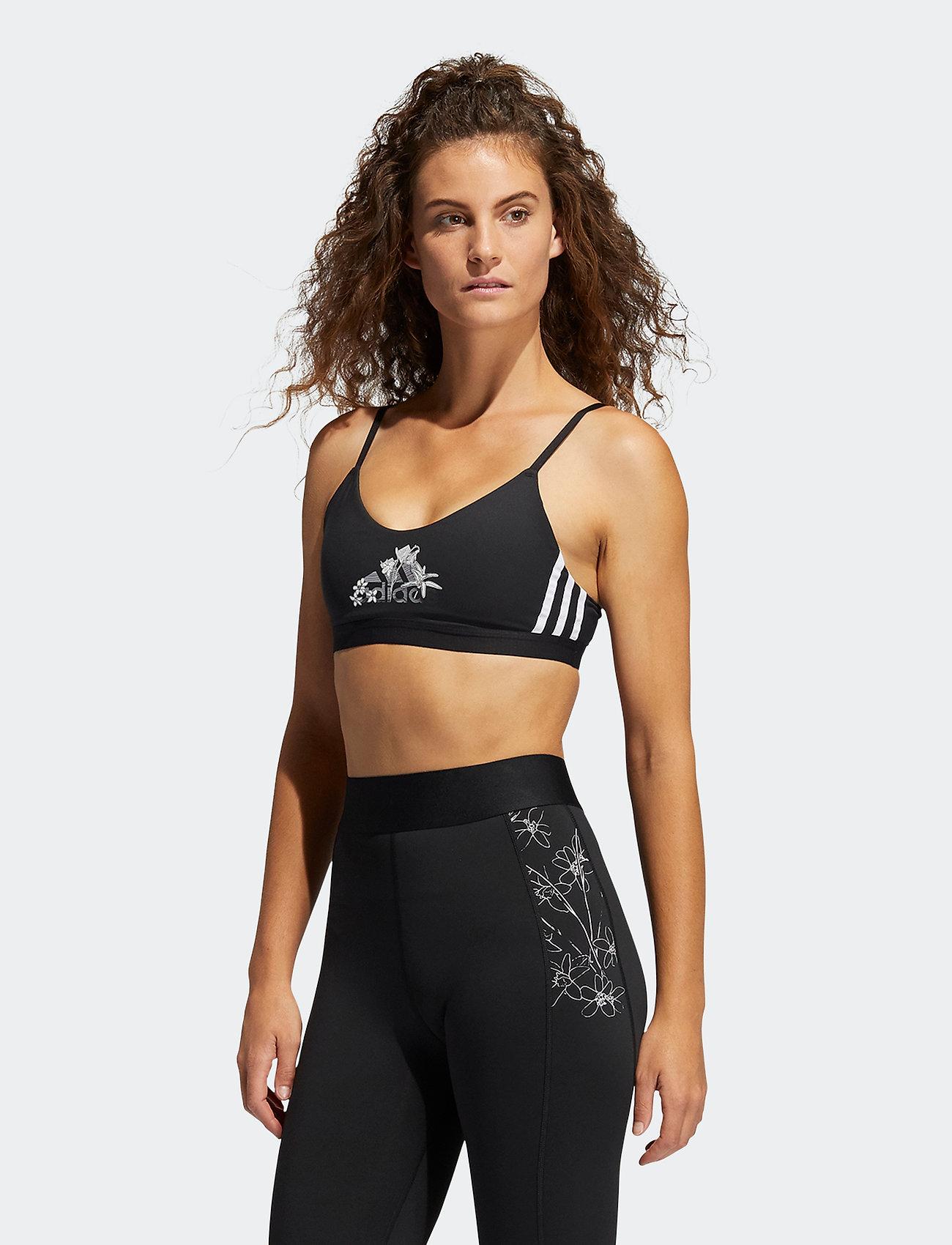 adidas Performance - Nini Sum Graphic AM Bra W - sport bras: low support - black - 0