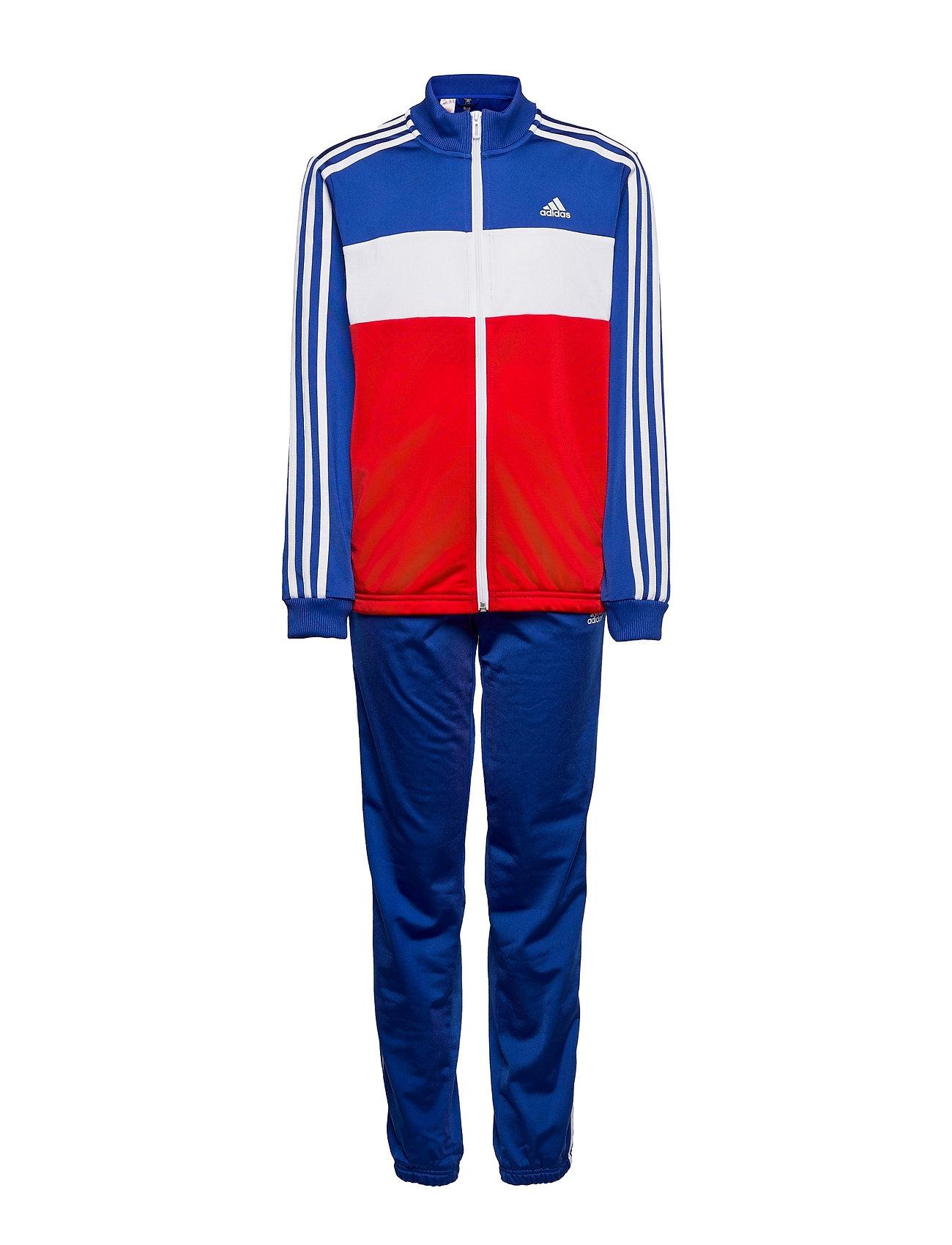 Essentials Track Suit Tracksuit Multi/mønstret Adidas Performance
