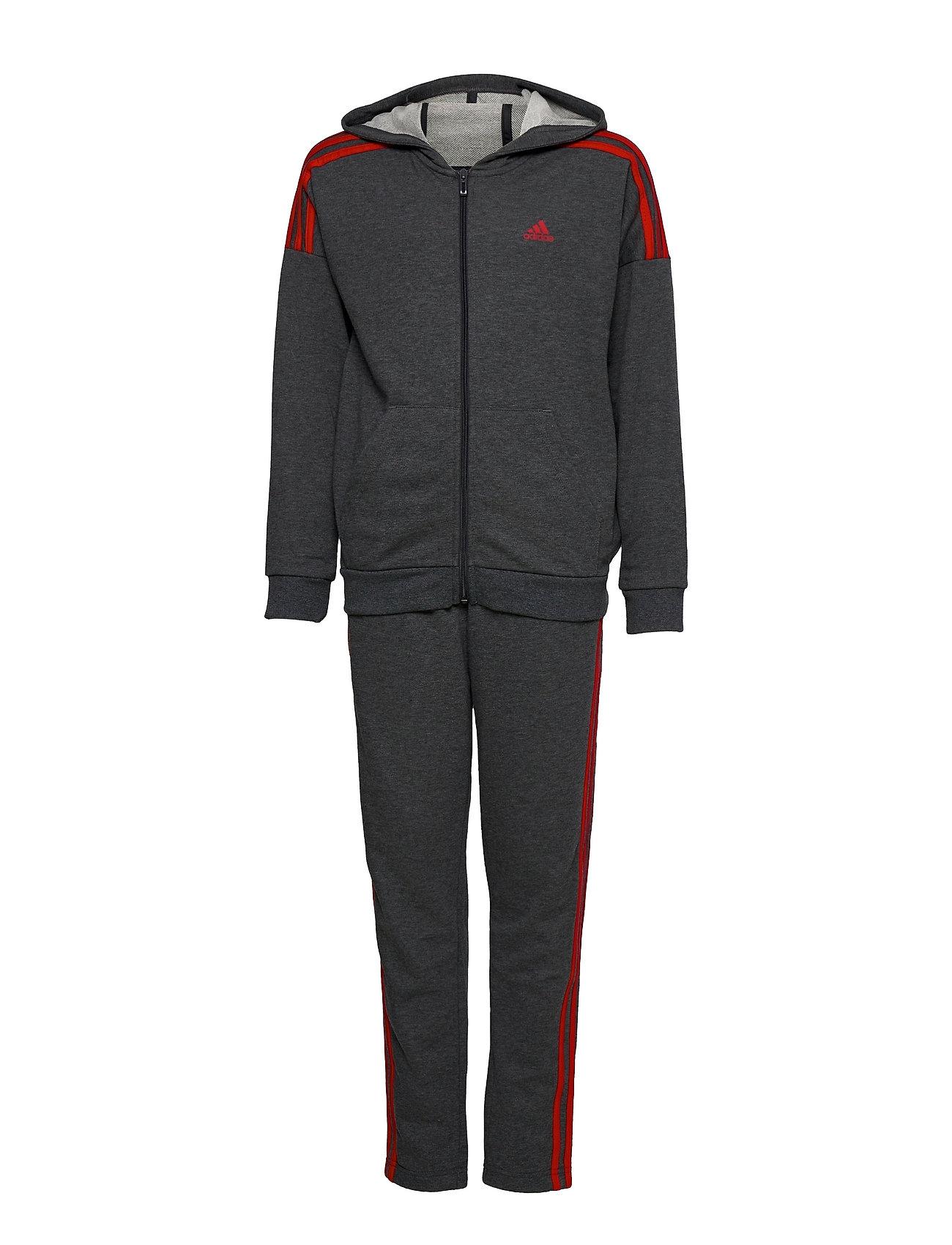 Track Suit Tracksuit Sort Adidas Performance