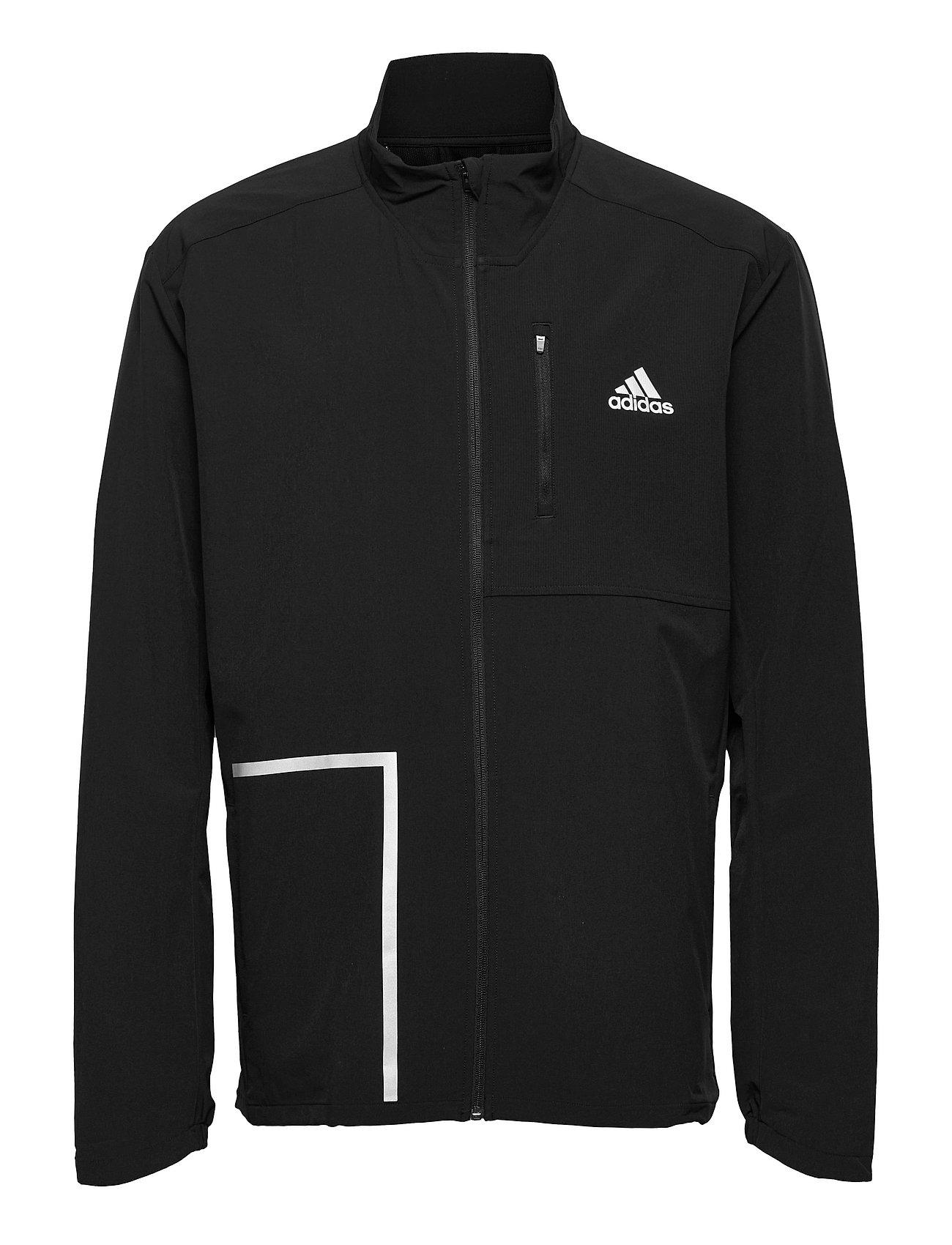 Own The Run Soft Shell Jacket Outerwear Sport Jackets Sort Adidas Performance