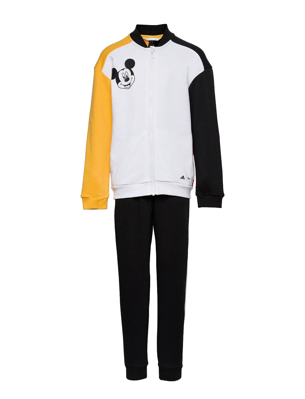 Disney Mickey Mouse Jogger Tracksuit Hvid Adidas Performance
