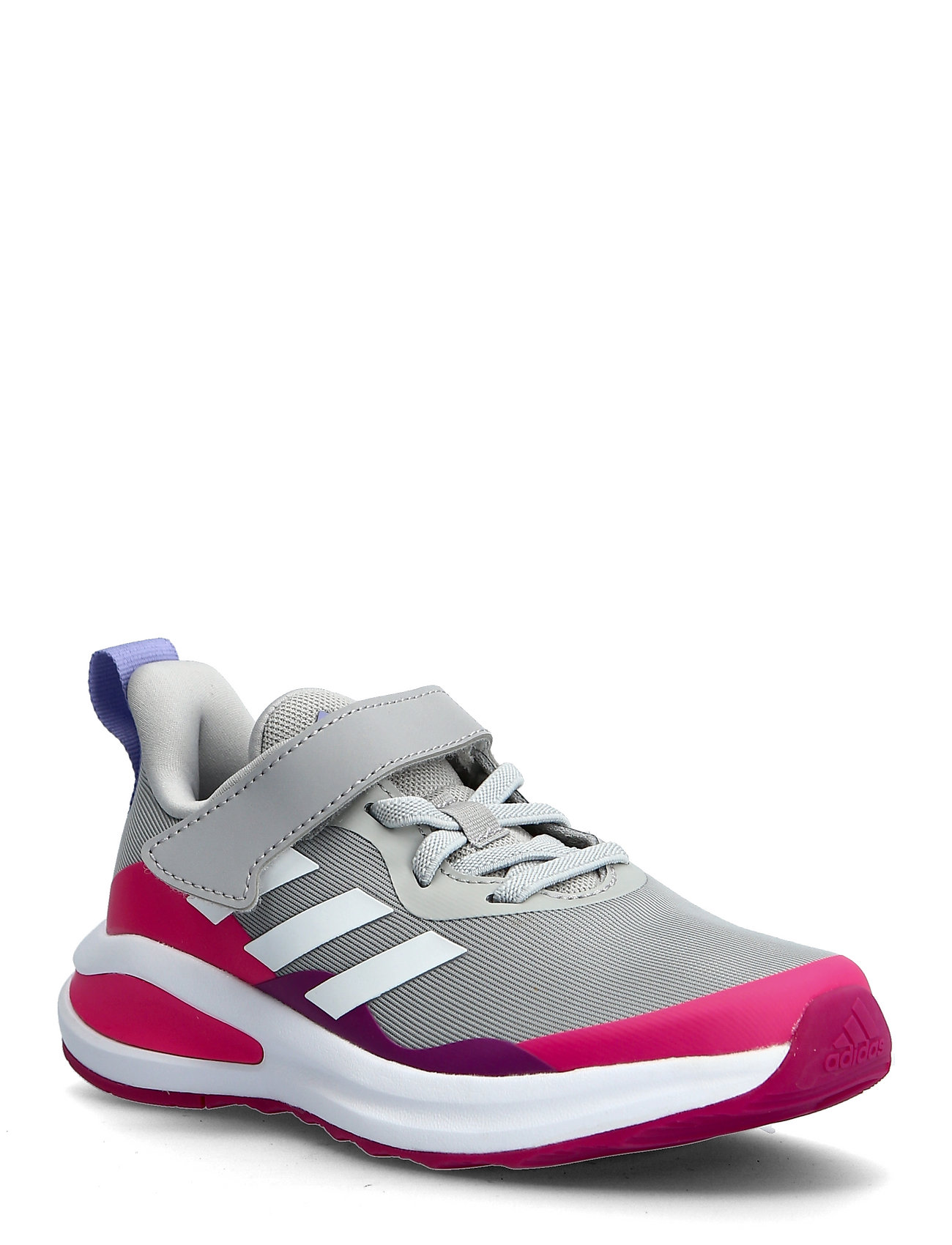 Fortarun Elastic Lace Top Strap Running Shoes Sports Shoes Running/training Shoes Grå Adidas Performance