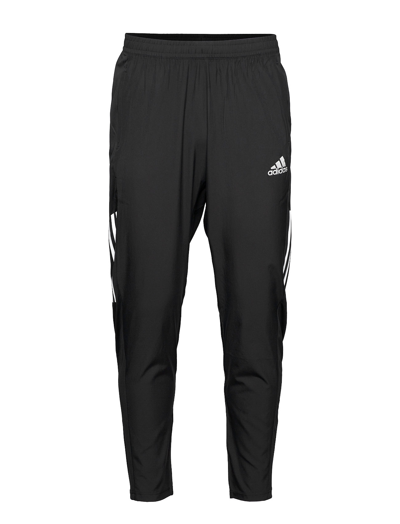Own The Run Astro Wind Pants Sport Pants Sort Adidas Performance