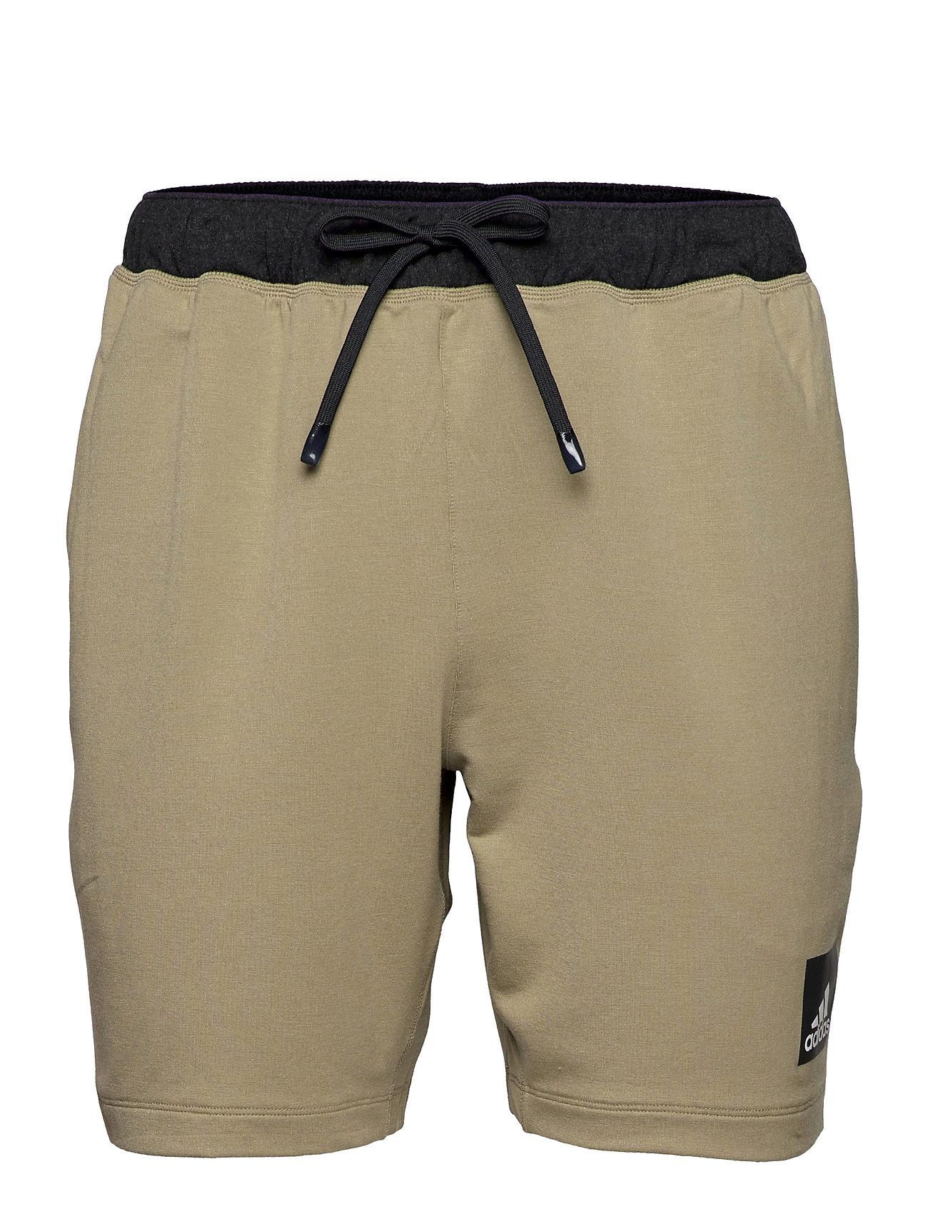 City Fleece Training Shorts Shorts Sport Shorts Grøn Adidas Performance