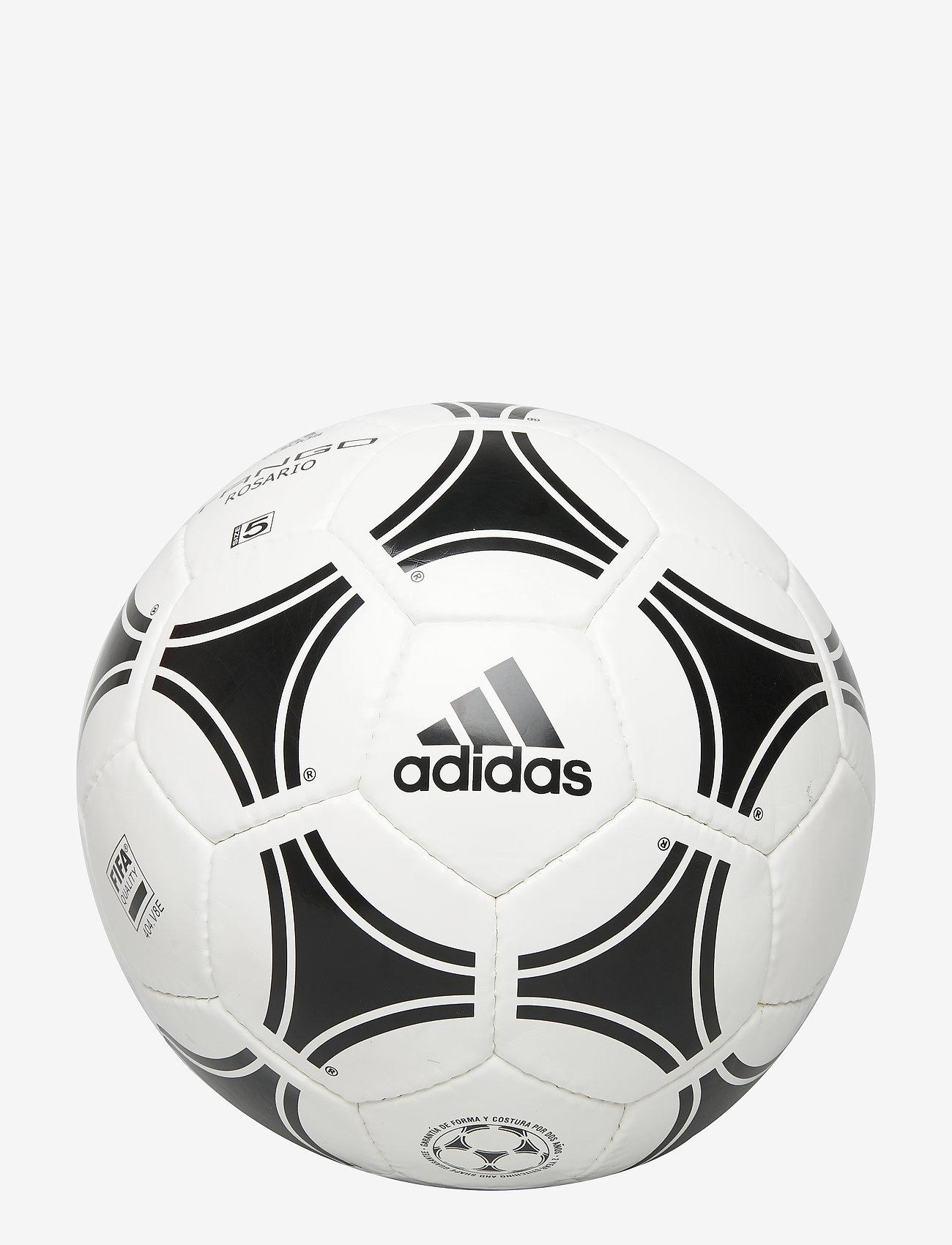 adidas Performance - Tango Rosario Ball - fotballutstyr - wht/black/black - 0