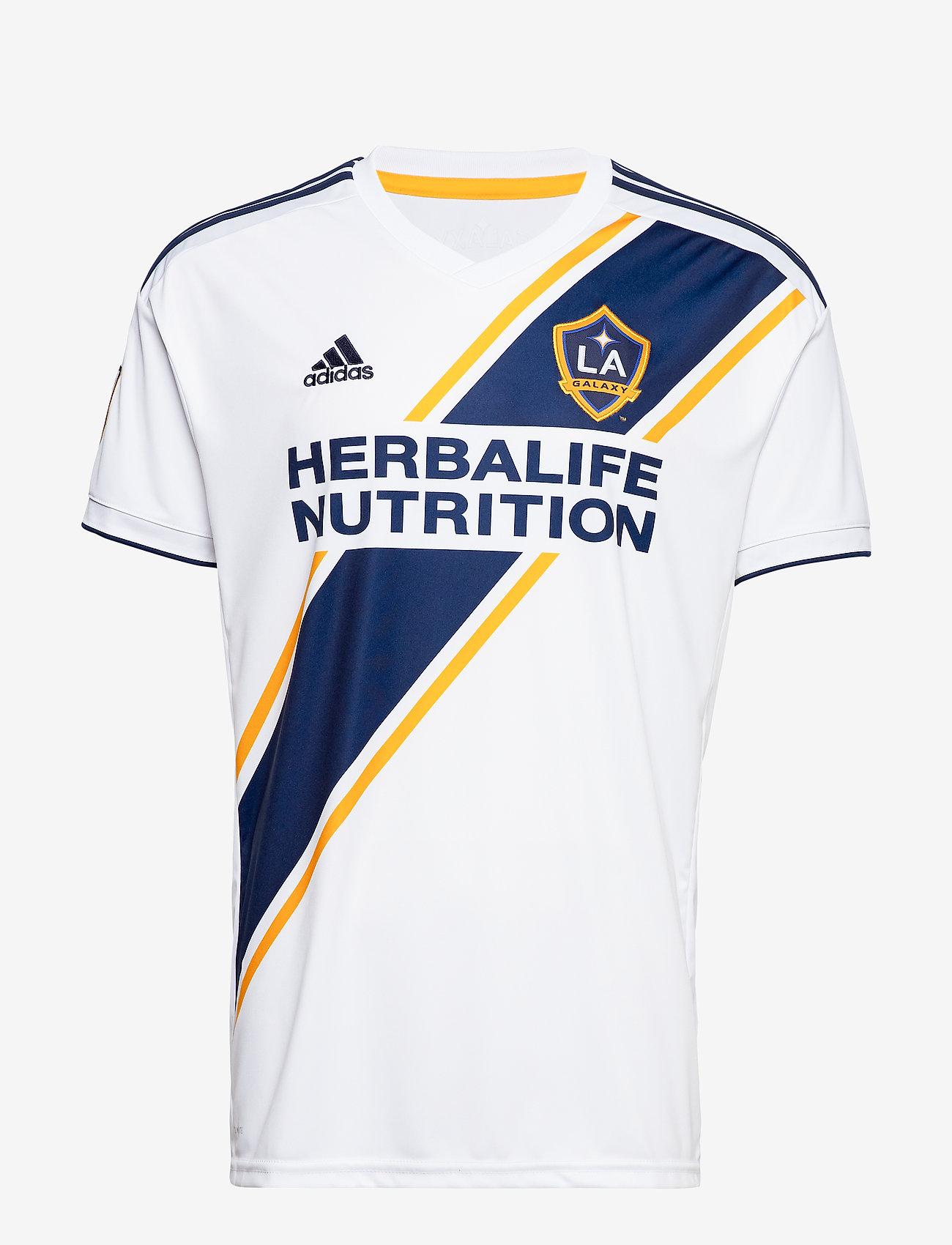 adidas Performance - LA JSY H - football shirts - white/conavy/cogold - 0