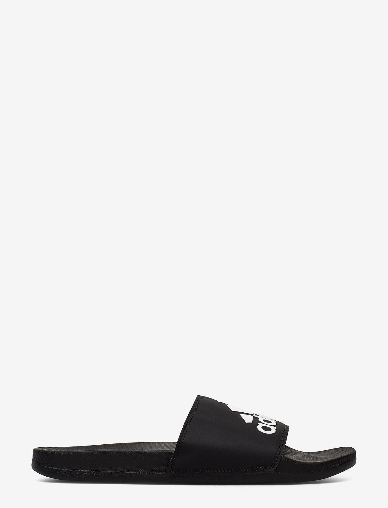 adidas Performance - Adilette Comfort Slides - pool sliders - cblack/cblack/ftwwht - 1