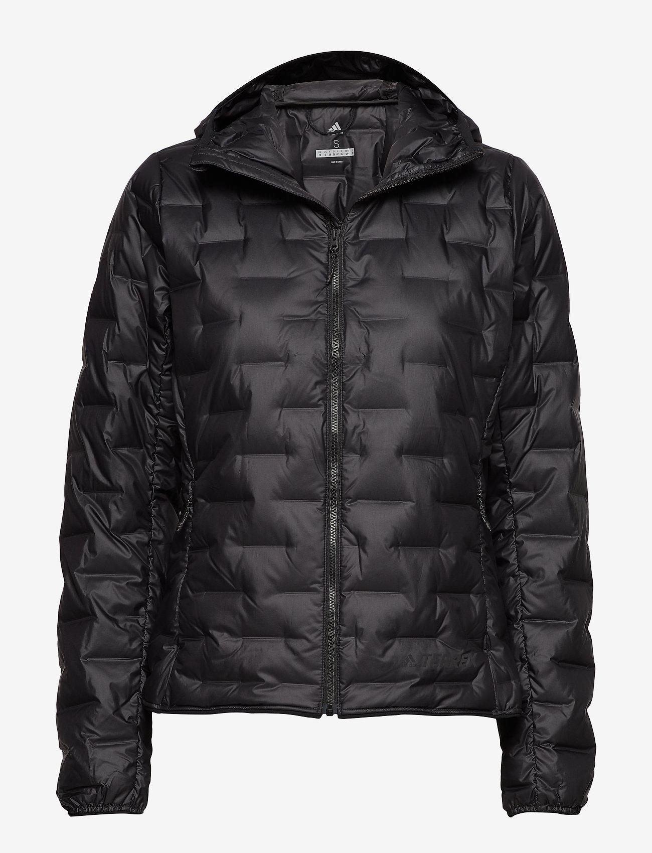 adidas Performance - W Light Down Ho - outdoor & rain jackets - black