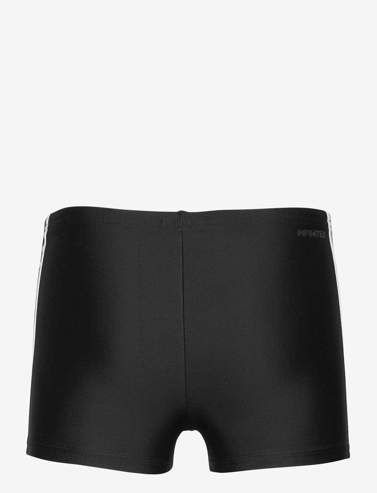 adidas Performance - 3-Stripes Swim Boxers - bademode - black/white - 1