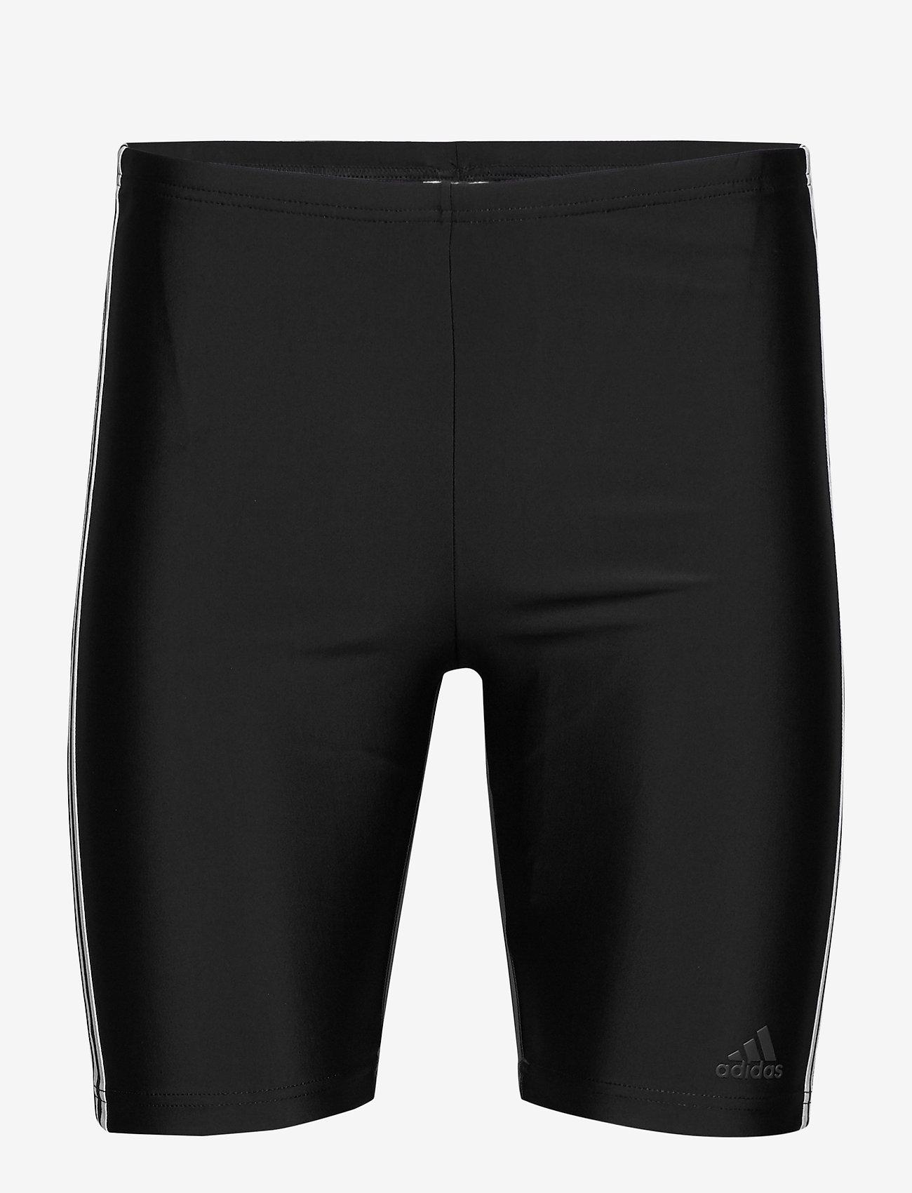 adidas Performance - 3-Stripes Swim Jammers - shorts - black/white - 1