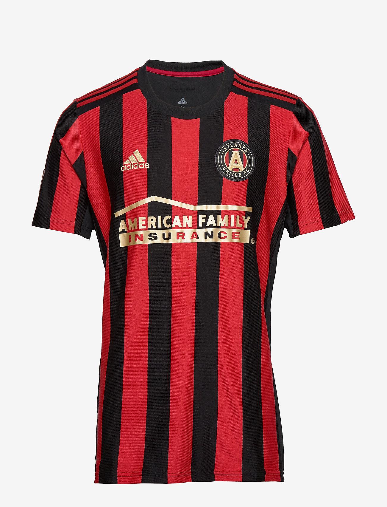 adidas Performance - ATL H JSY - football shirts - black/vicred - 1