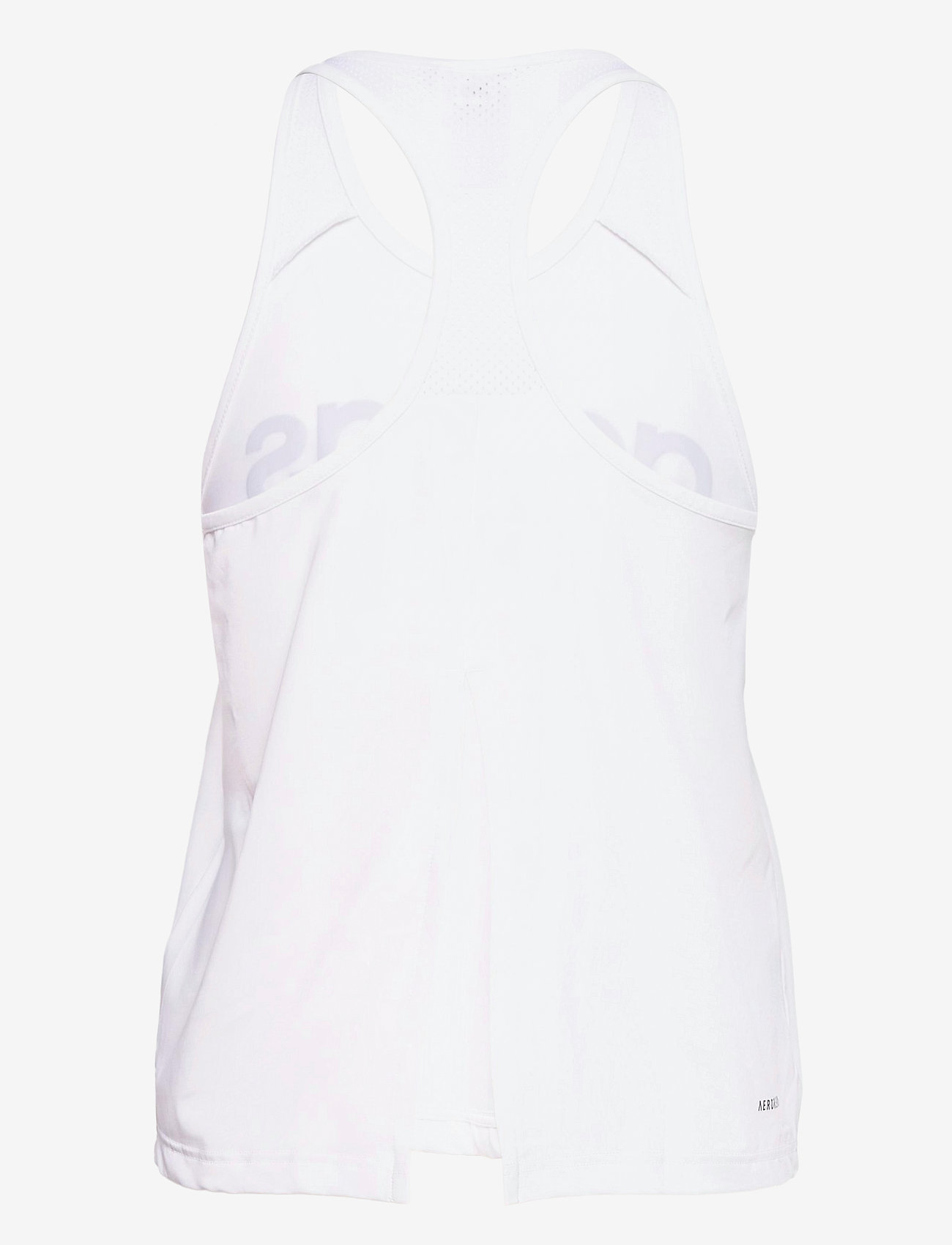 adidas Performance - Designed To Move Logo Tank Top W - topjes - white/black - 1