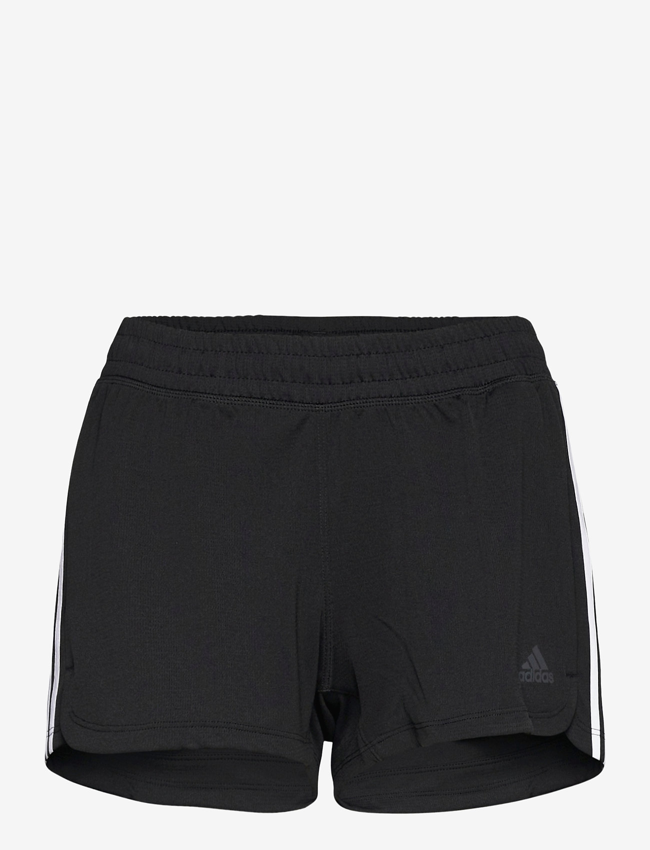 adidas Performance - Pacer 3-Stripes Knit Shorts W - træningsshorts - black/white - 1