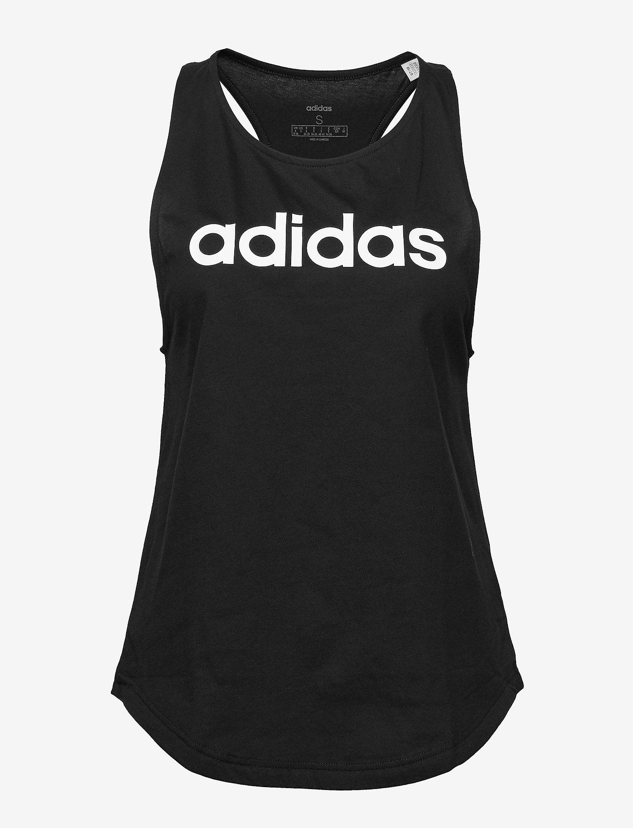 adidas Performance - W E LIN LOOS TK - podkoszulki bez rękawów - black/white - 1
